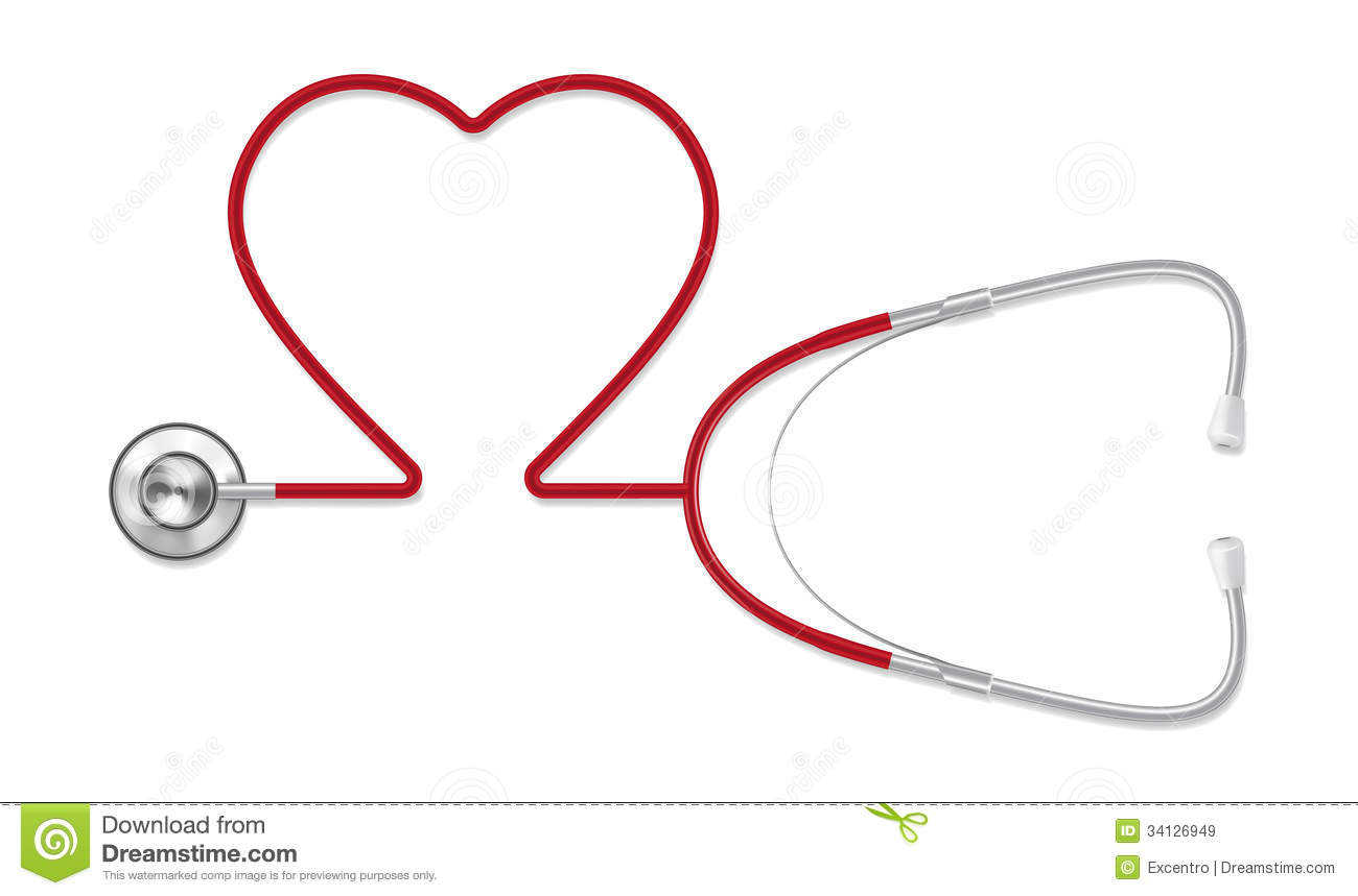 Stethoscope Stock Vector. Image Of Expressing, Medical