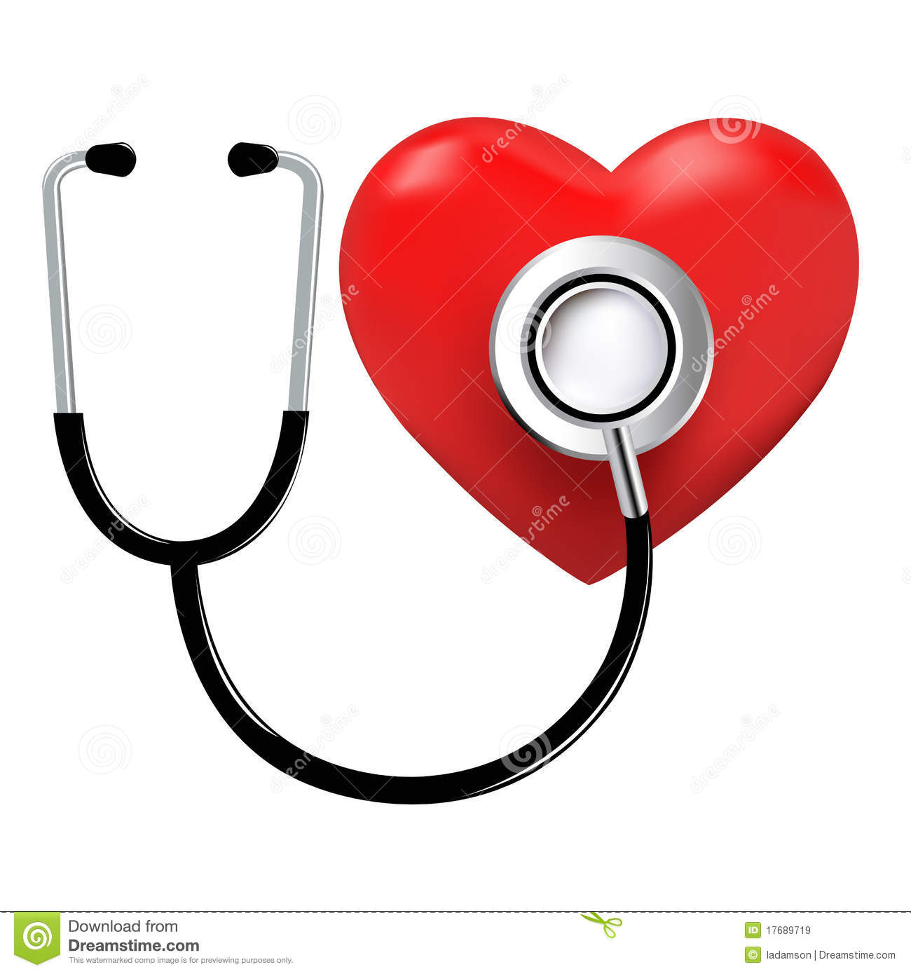 medical doctor heart listening device stethoscope stock rh dreamstime com Woman Doctor Clip Art heart doctor clip art