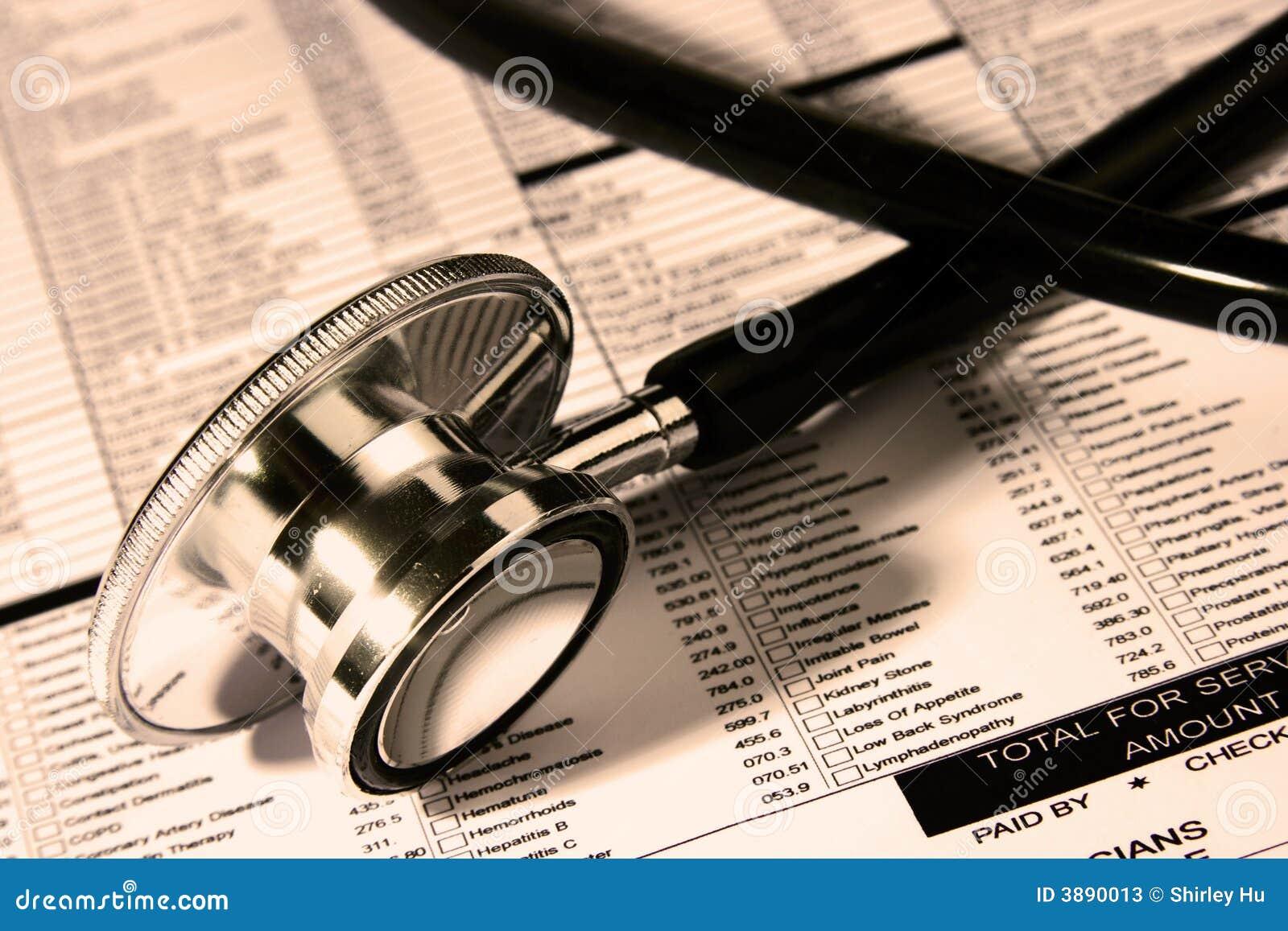 Stetoscopio sopra un rapporto