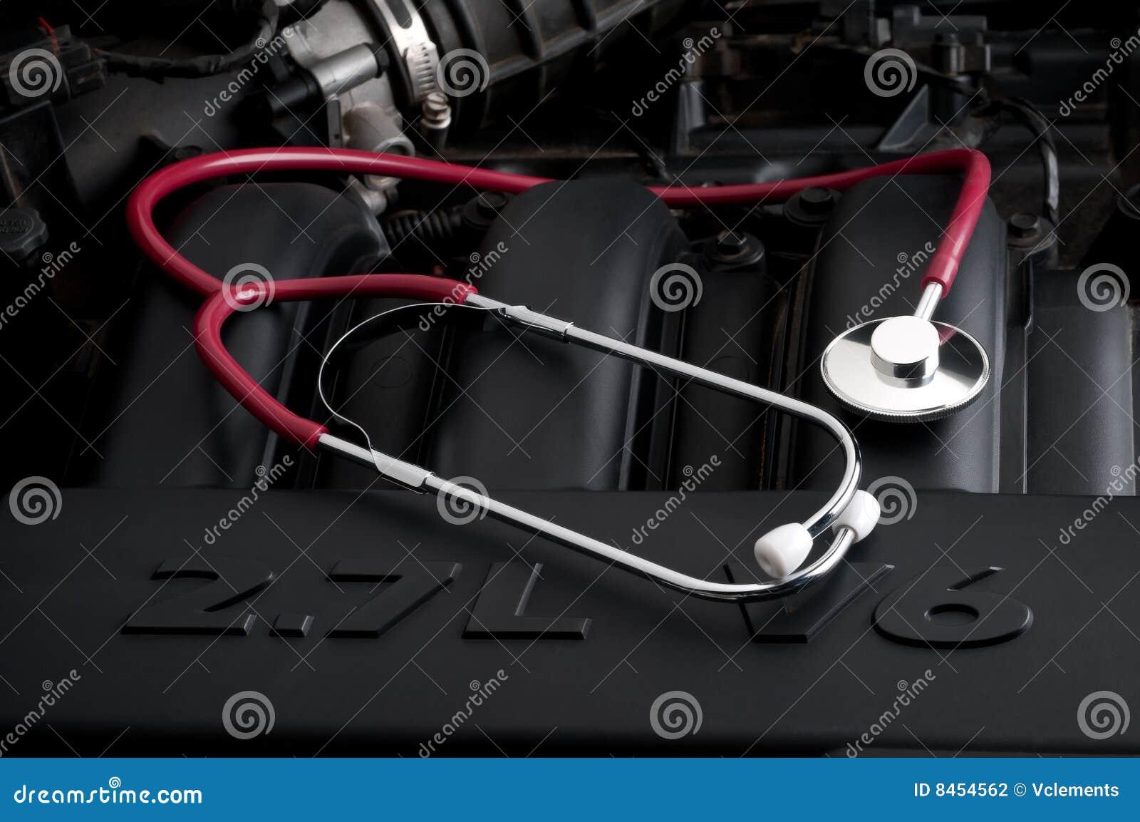 Stetoskop för bilmotor