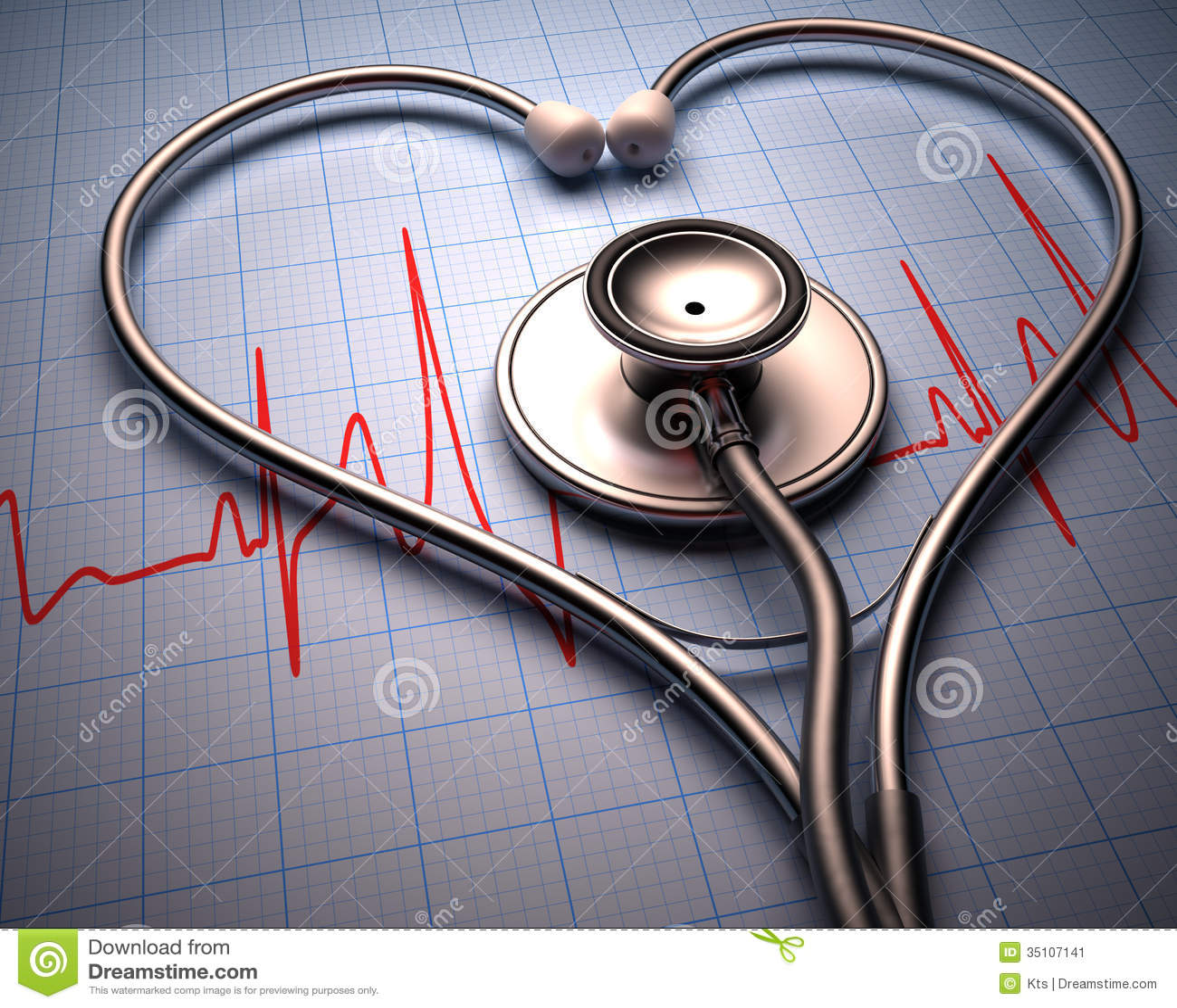Stetoskophjärta Shape
