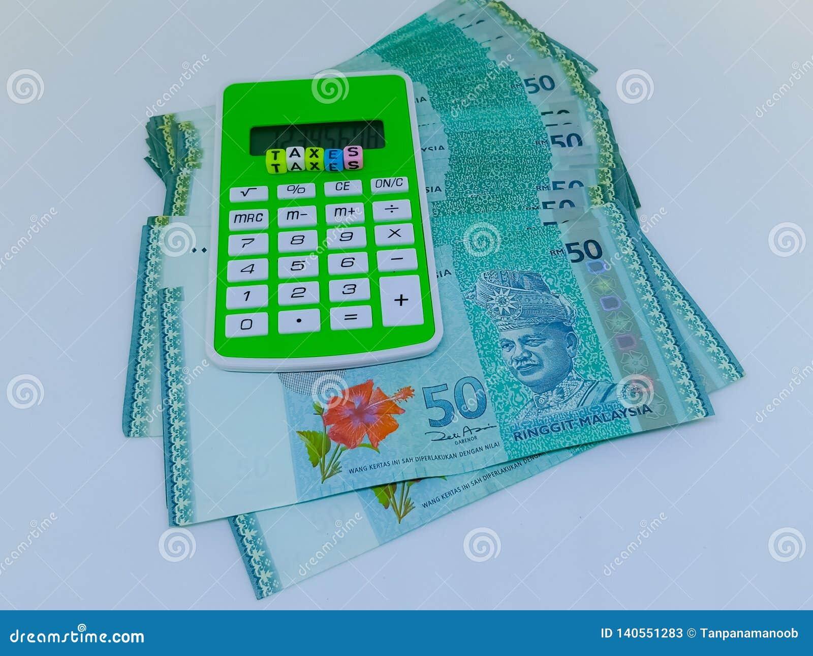 Steuerfinanzkonzept Steuerkonzept bargeld