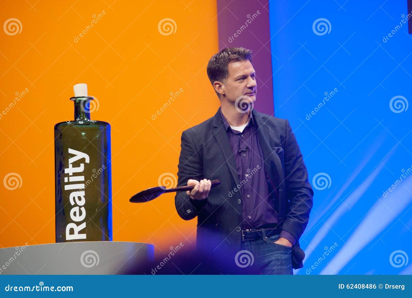 Steve Lucas dostarcza adres SAP TechEd 2015 konferencja