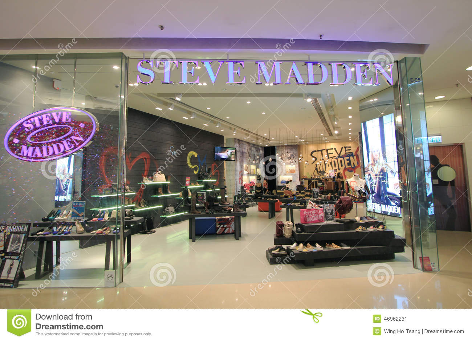 65851488f4f Steve Madden Shop In Hong Kong Editorial Photo - Image of kung ...