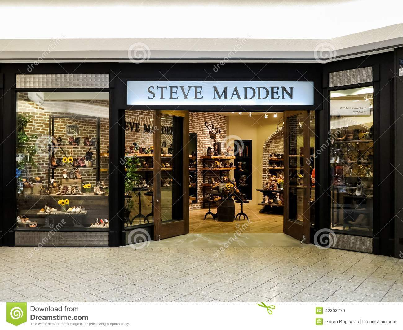 1ebbb802332 View at Steve Madden shop in Denver. It is a footwear company founded at  1990.