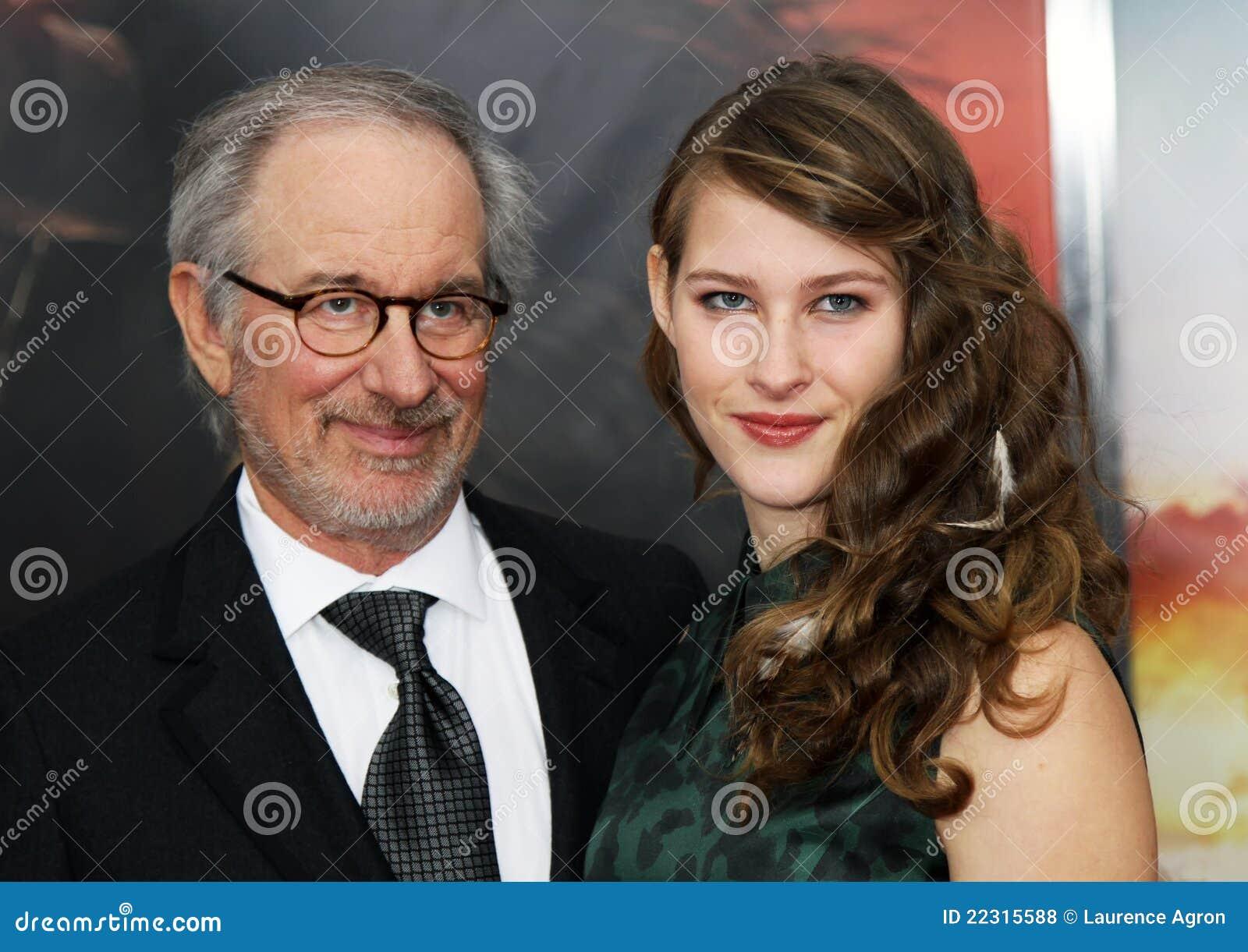 Steven Spielberg And Destry Allyn Editorial