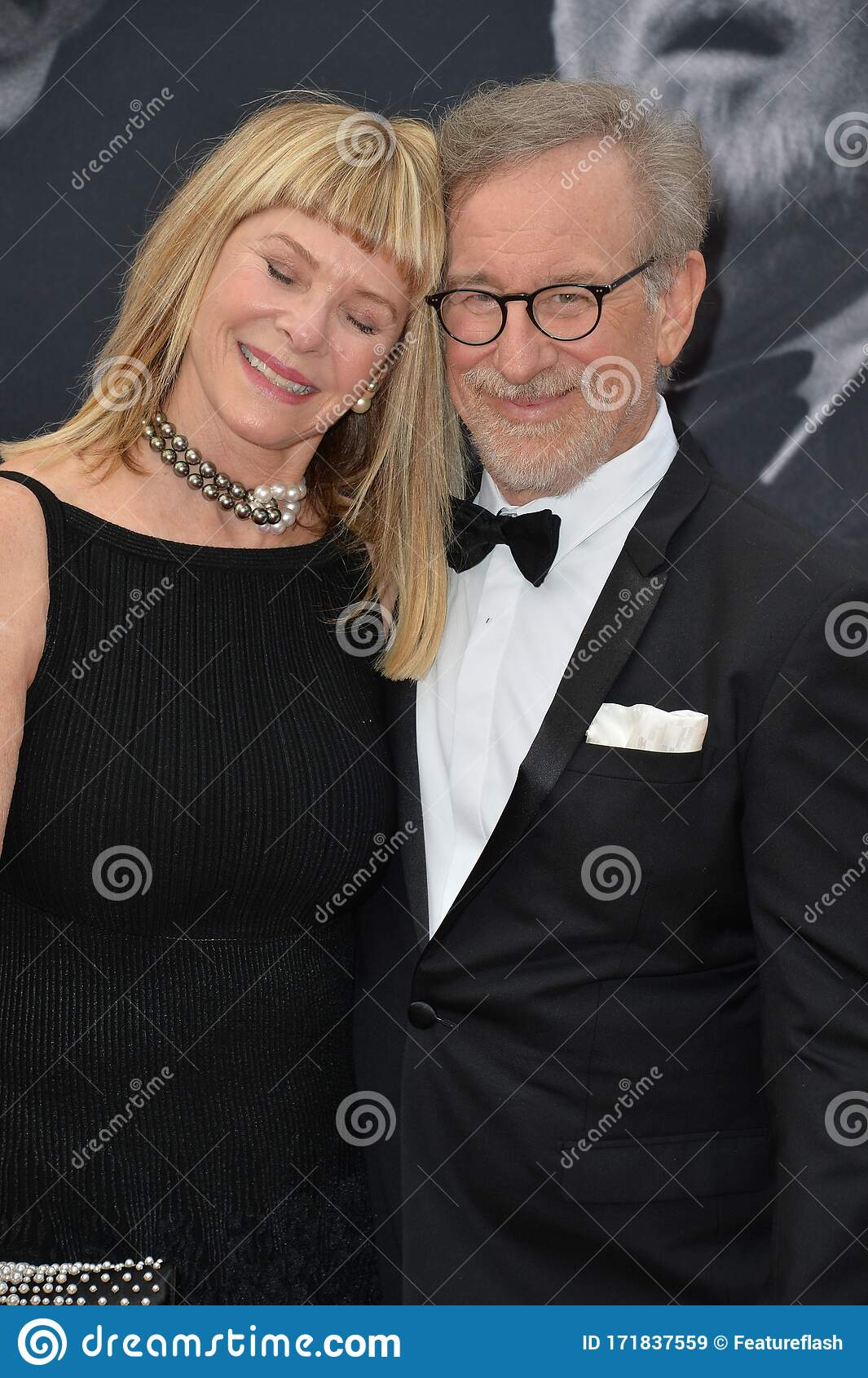 Steven Spielberg Kate Capshaw Editorial Stock Image Image Of Length Black 171837559