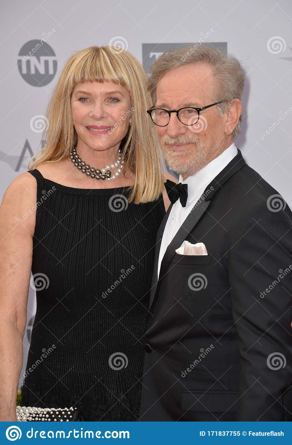 Steven Spielberg Kate Capshaw Editorial Image Image Of Black Talent 171837755