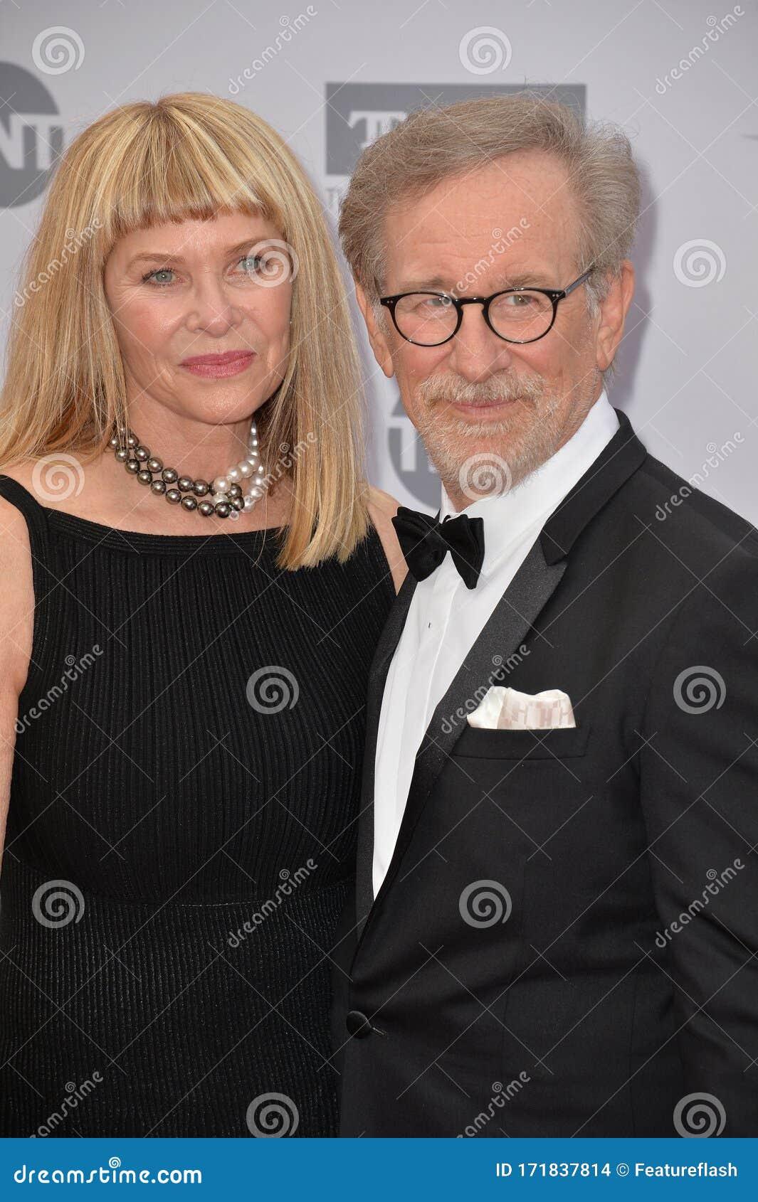 Steven Spielberg Kate Capshaw Editorial Stock Image Image Of Popular Black 171837814