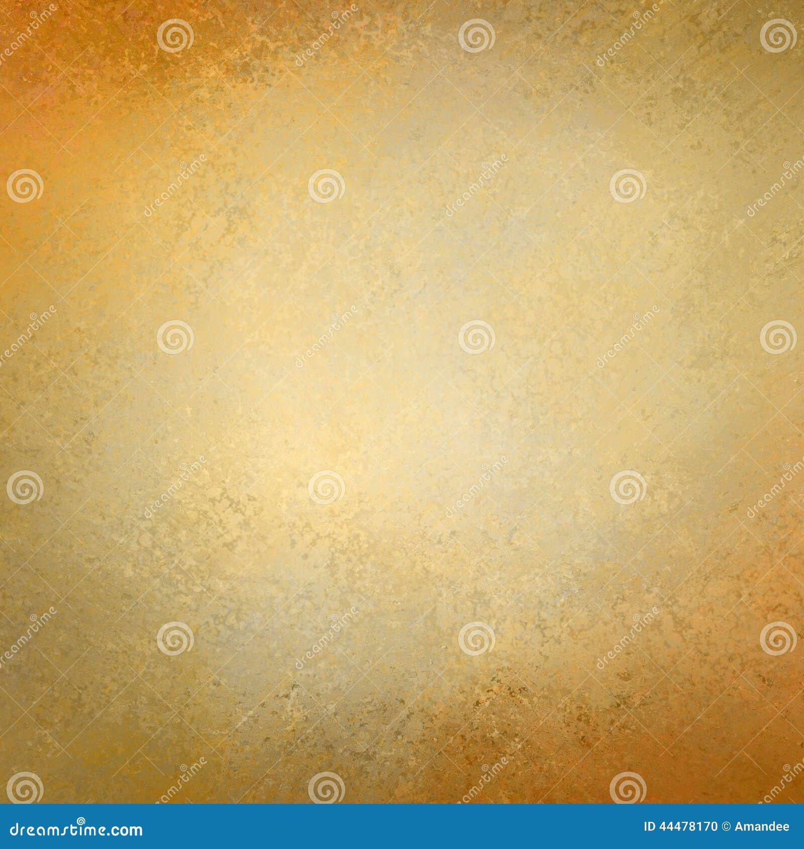 Stevig gouden document als achtergrond met het uitstekende ontwerp van de grungetextuur