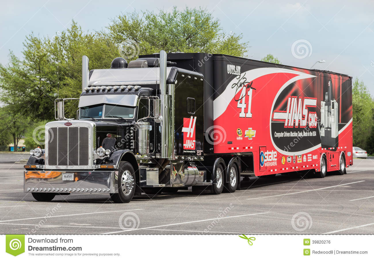 Stewart Haas Racing Nascar Hauler Editorial Photo Image