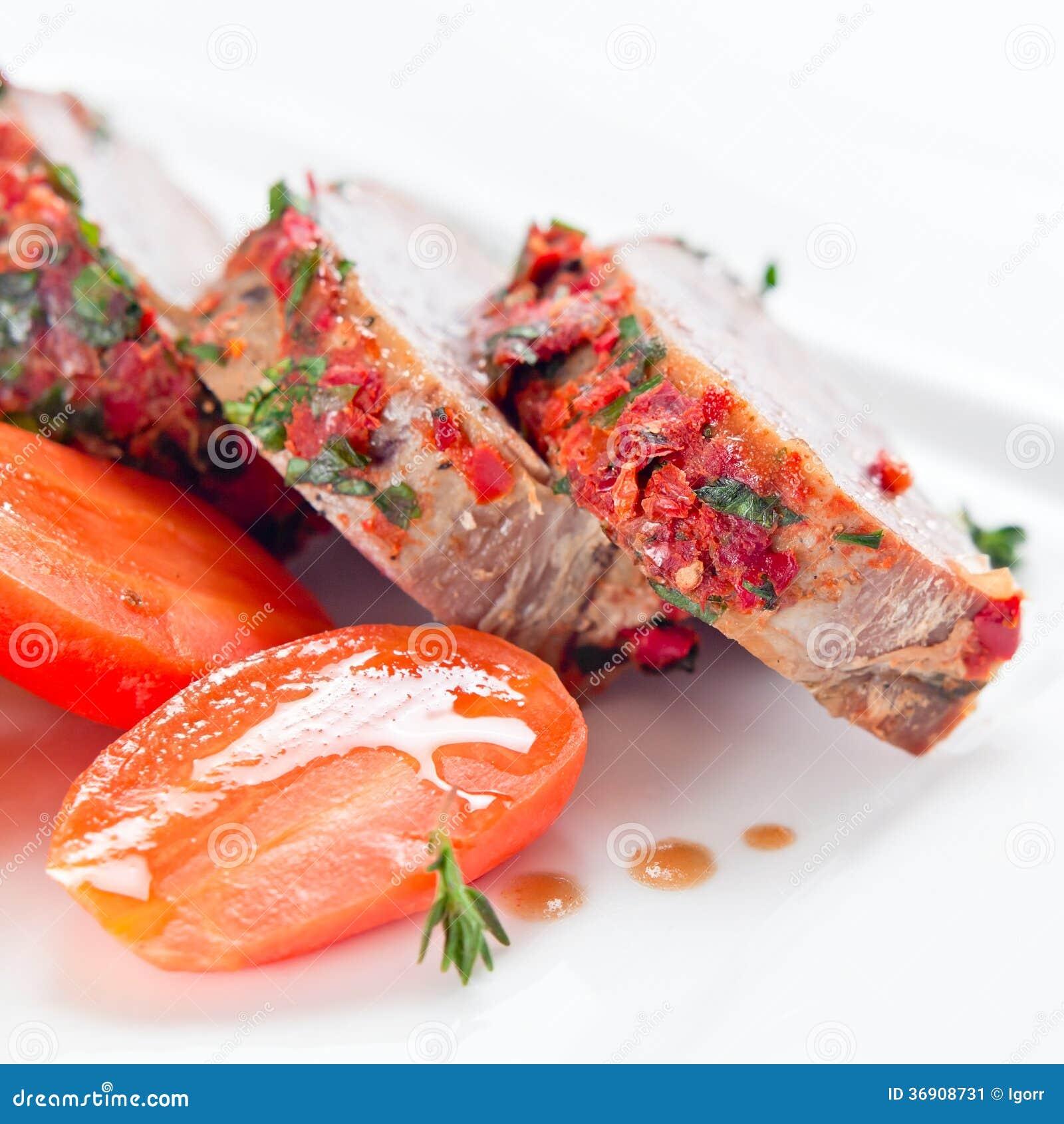 Stewed baranina
