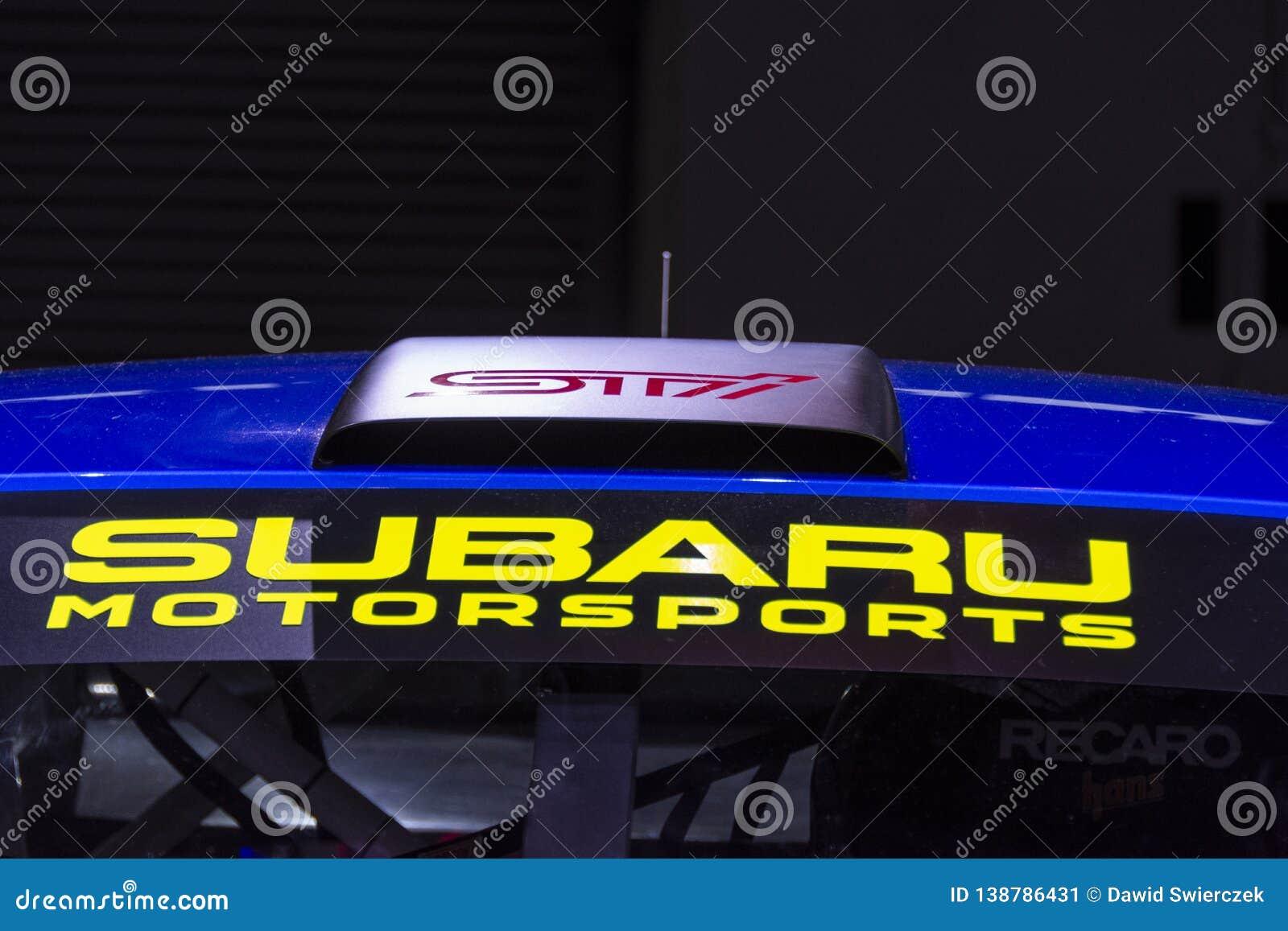 STI di Subaru WRX del mestolo del tetto del 2019