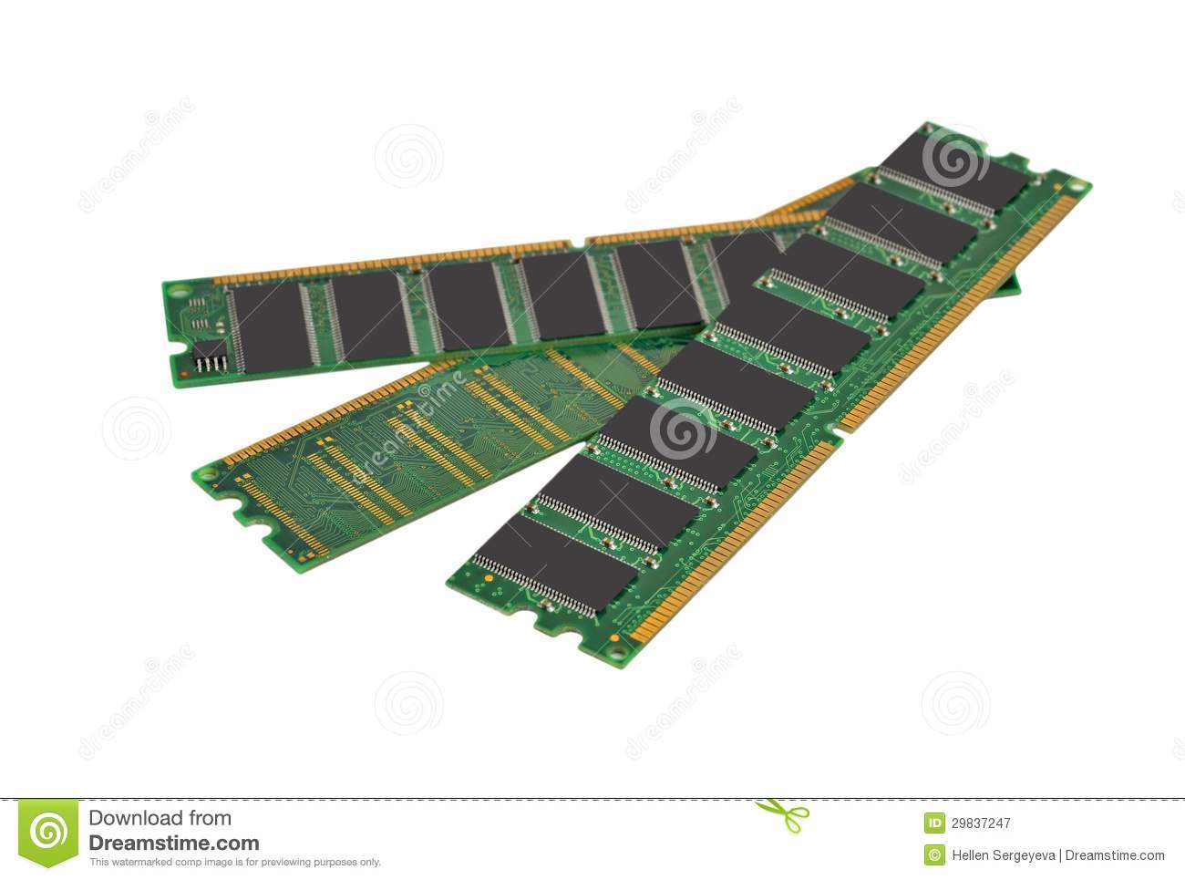 Ram memory stock image. Image of electrical, cmos ...