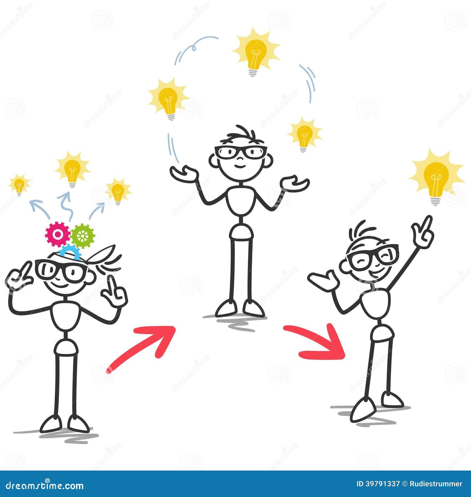 Smart cartoon brain