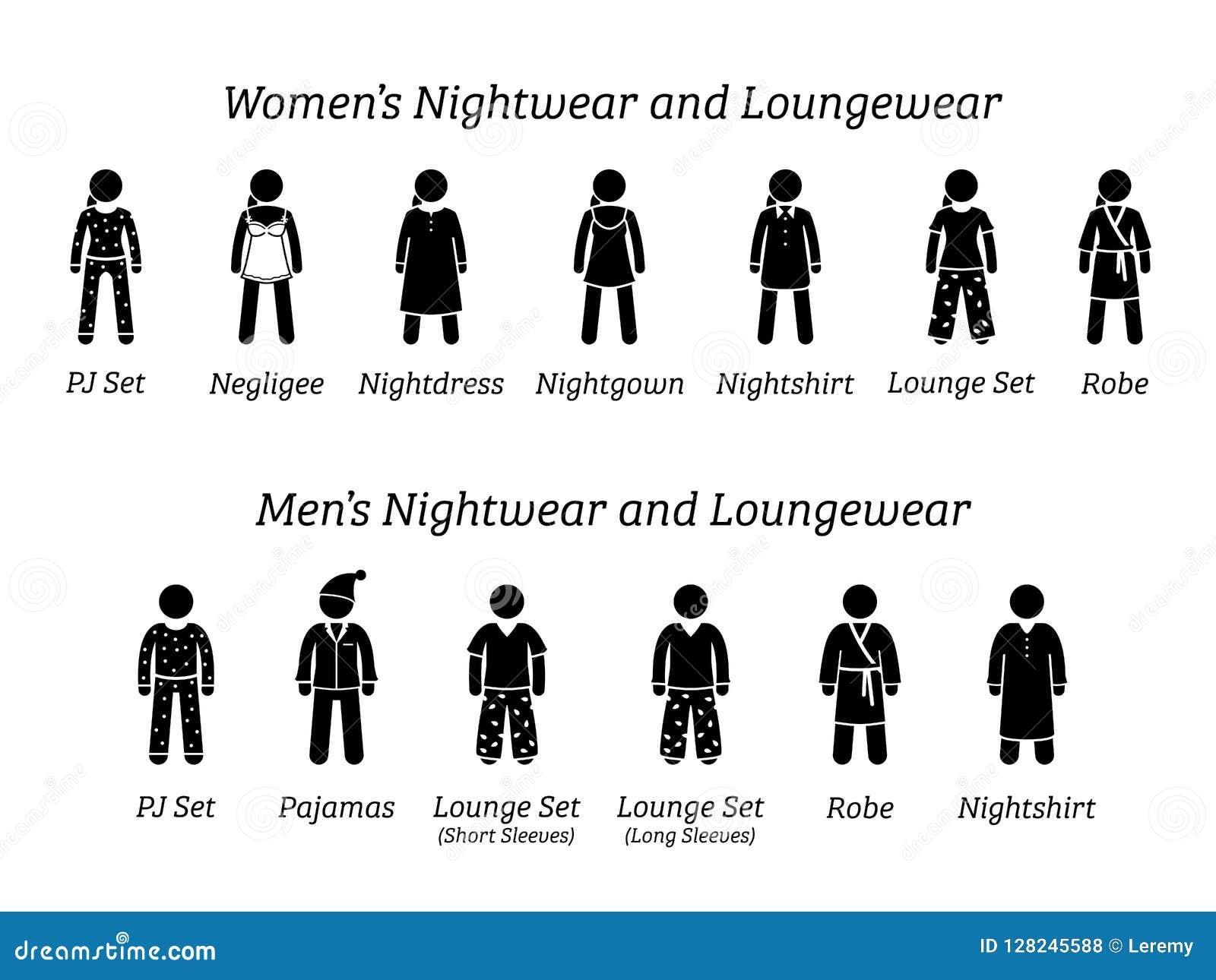 59afbe273e Loungewear Stock Illustrations – 28 Loungewear Stock Illustrations ...