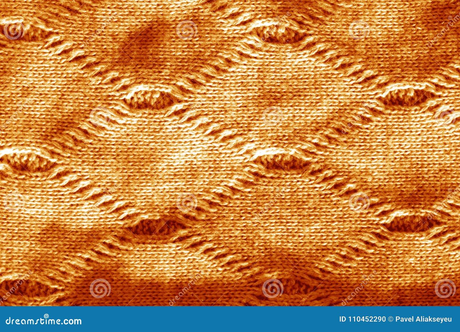 Sticka textur i orange signal