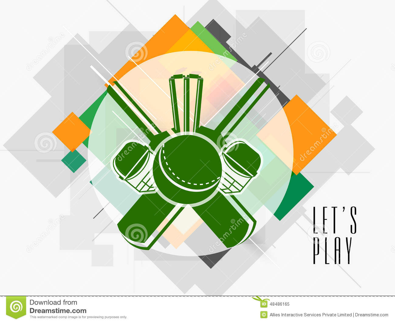 Sticker Or Label Design For Cricket Stock Illustration Illustration Of Championship Abstract 48486165