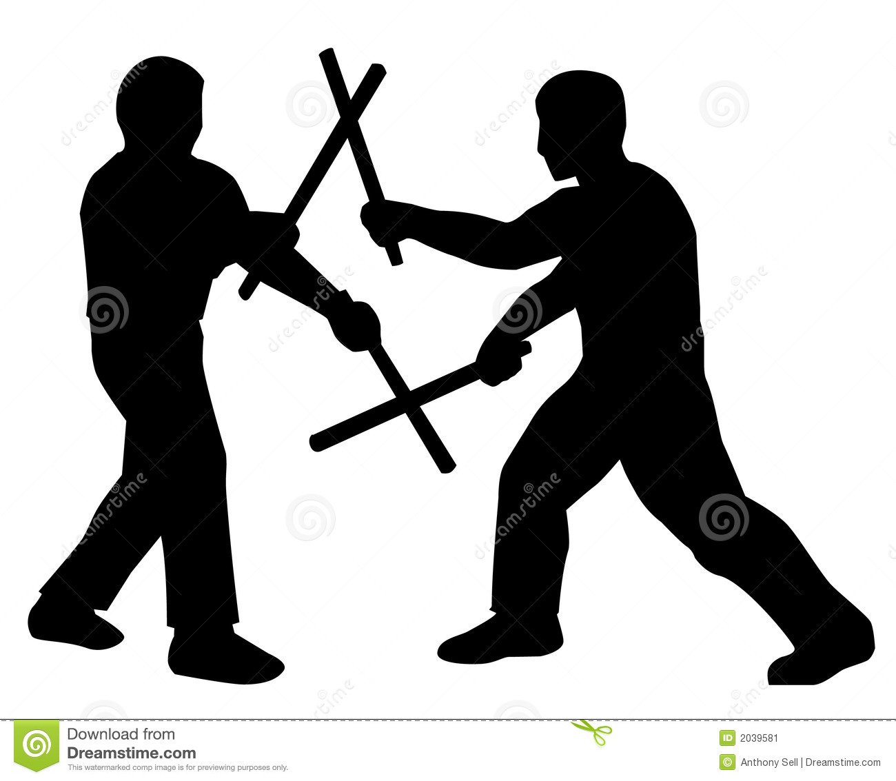 stickfighters stock image image 2039581 martial arts clip art images martial arts clip art images