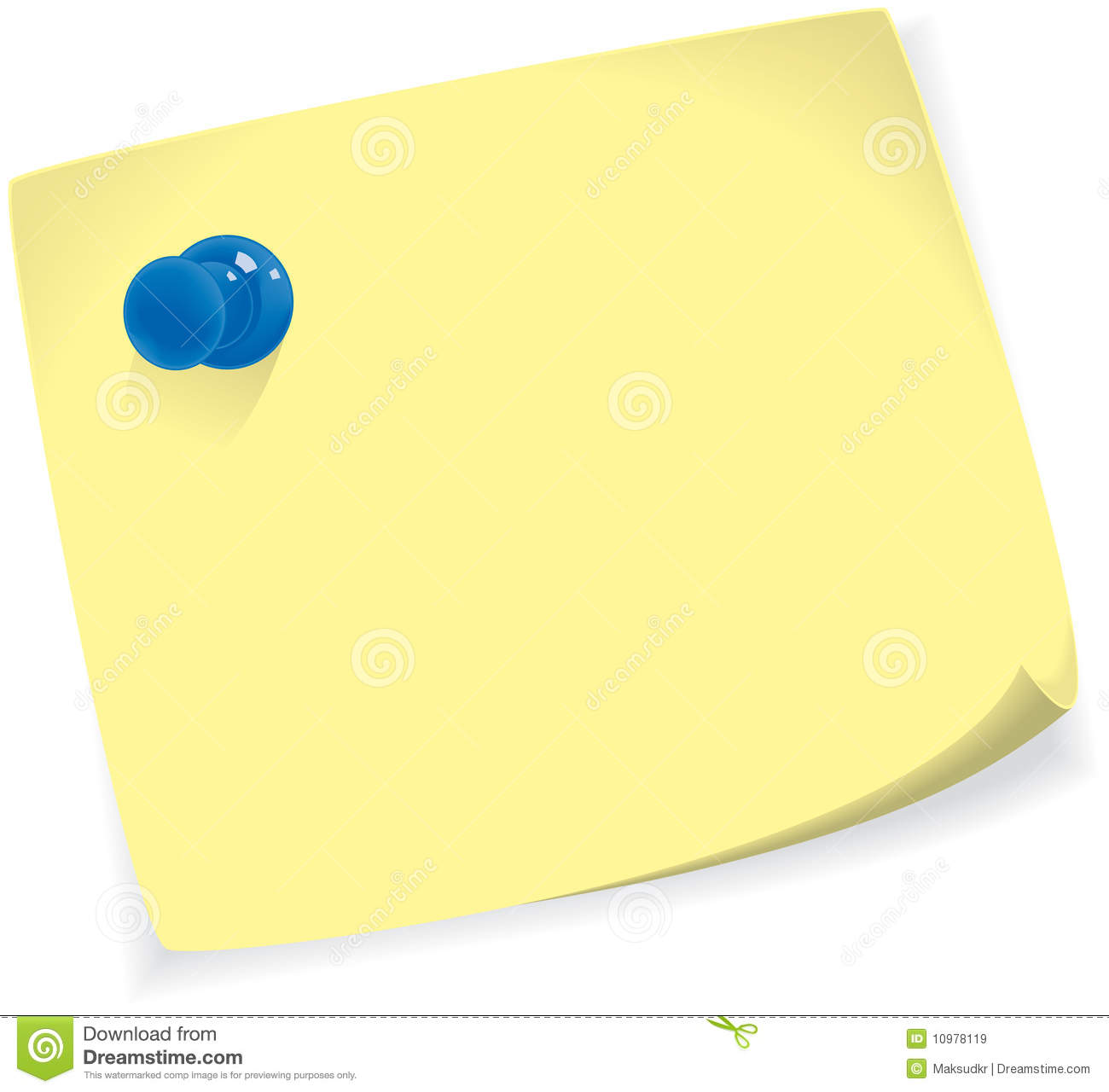 Sticky Note Royalty Free Stock Images - Image: 10978119