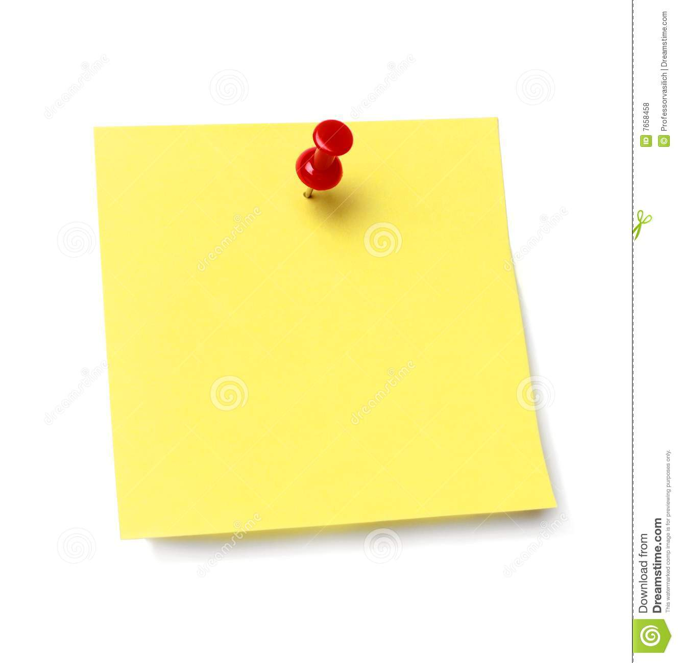 House Blogs Sticky Note Royalty Free Stock Photos Image 7658458