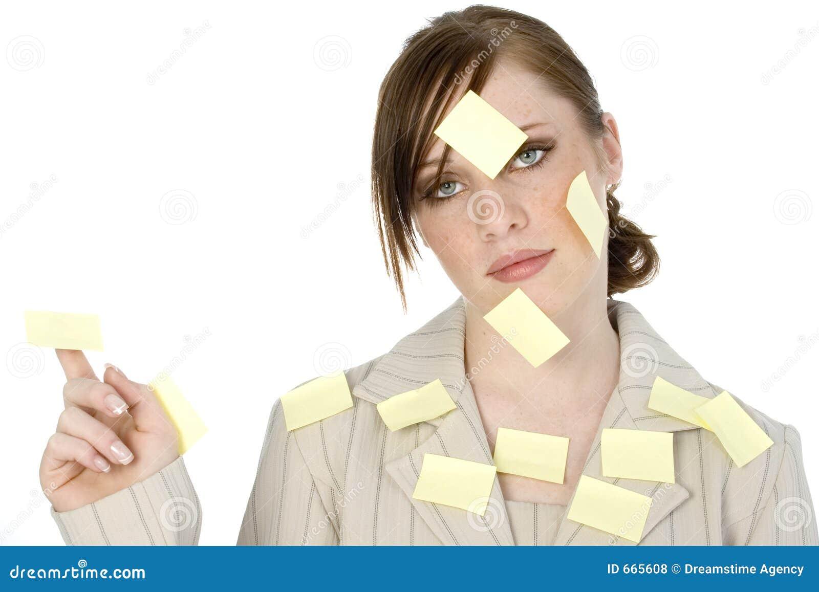 Sticky Note Girl
