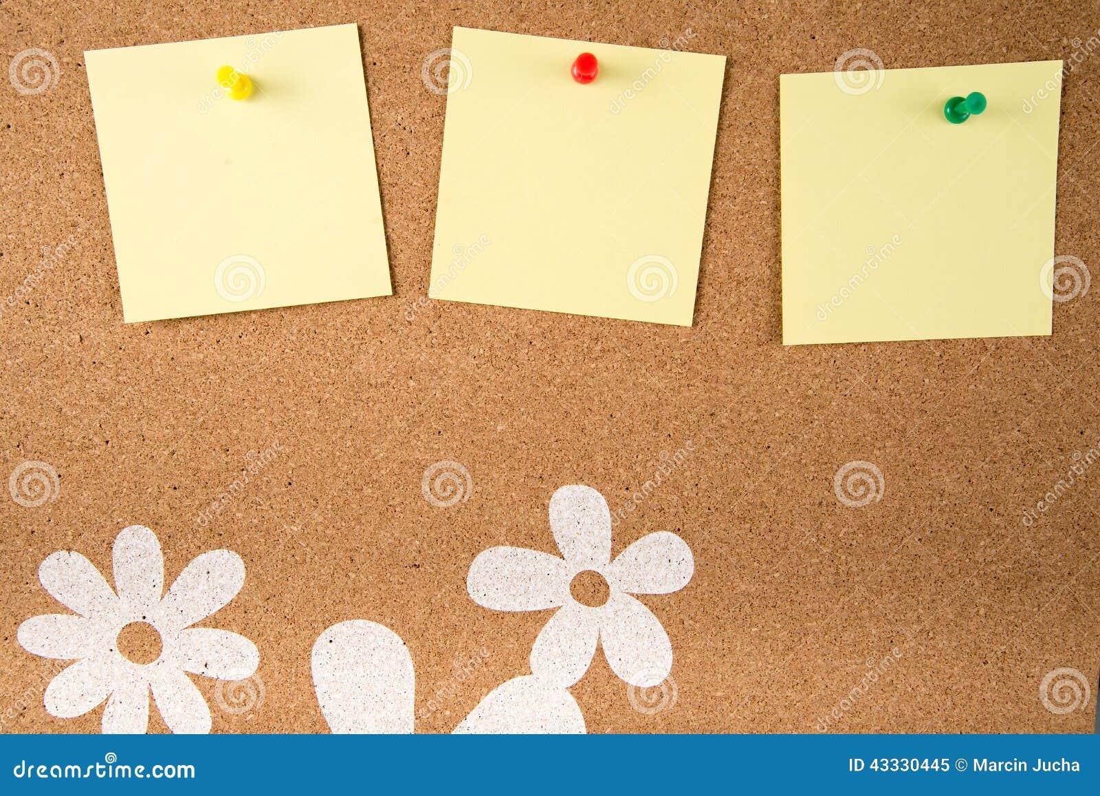 Sticky Note Memo On Board Illustration Image 43330445 – Sticky Note Template