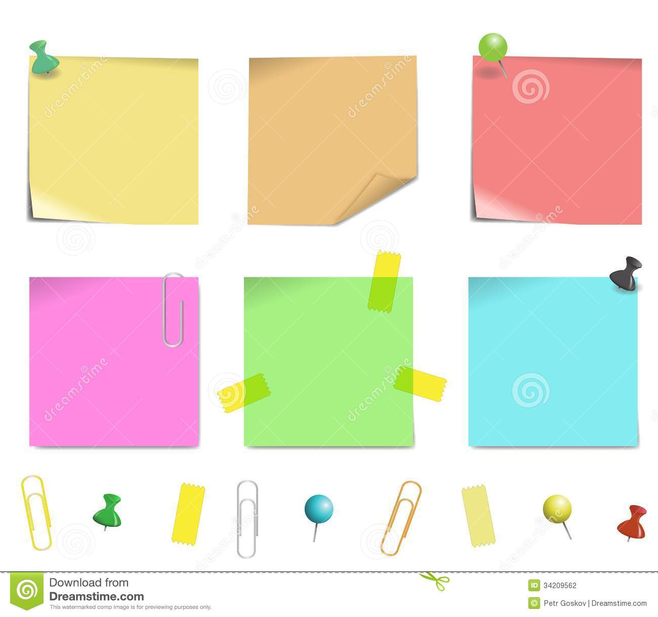 Free vector graphic sticky note note info paper free image on - Royalty Free Stock Photo Illustration Isolated Note Paper Sticky