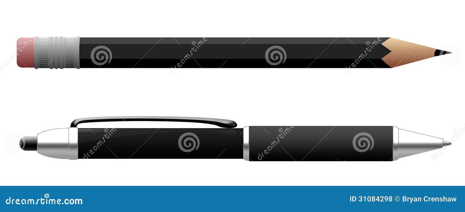 Stift und Bleistift