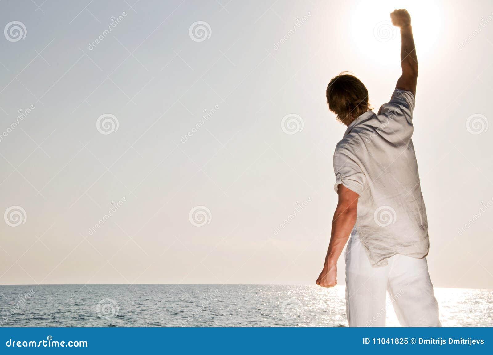 Stigning för strandhandman