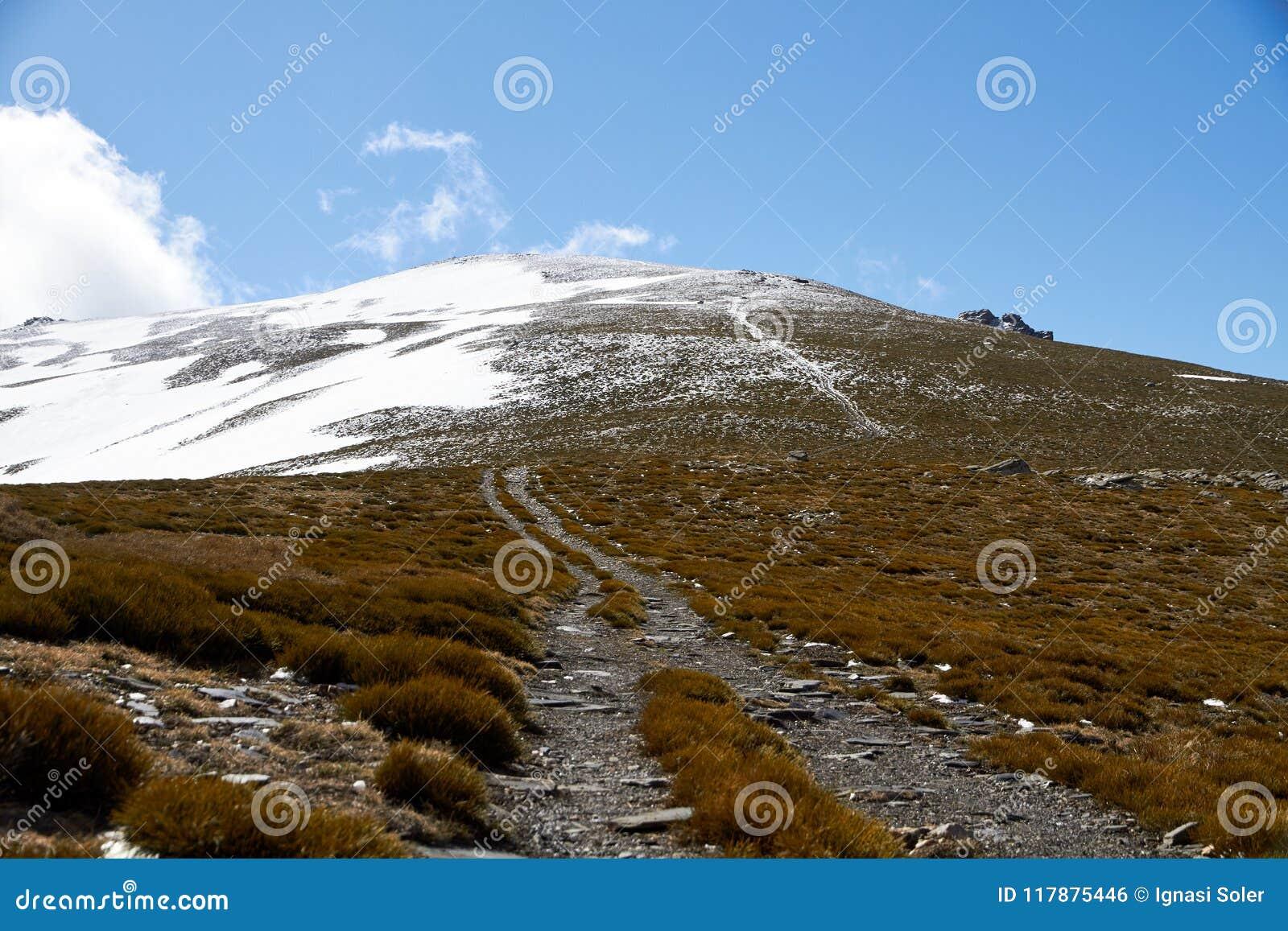 Stigning till bergmaximumet