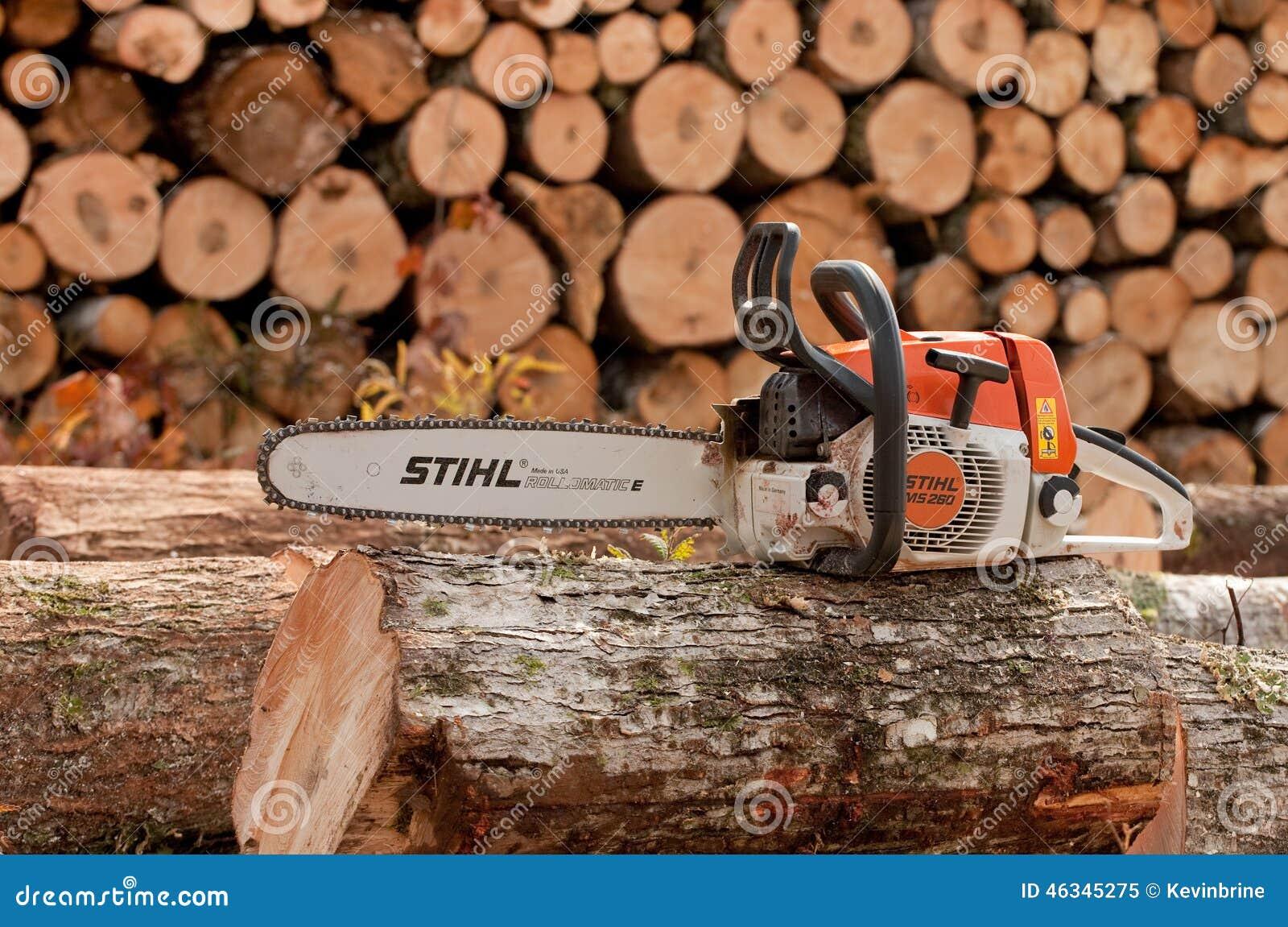 Stihl Chainsaw Editorial Image Image 46345275