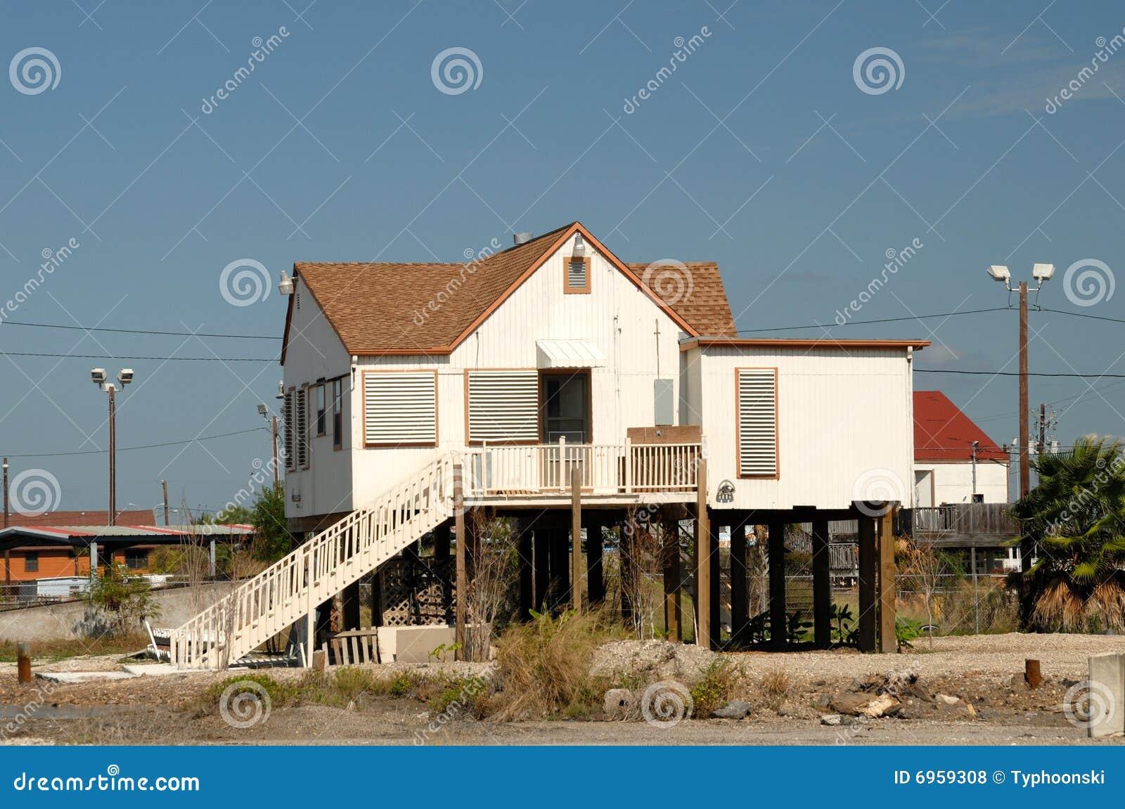 Stijf huis in zuidelijk Texas