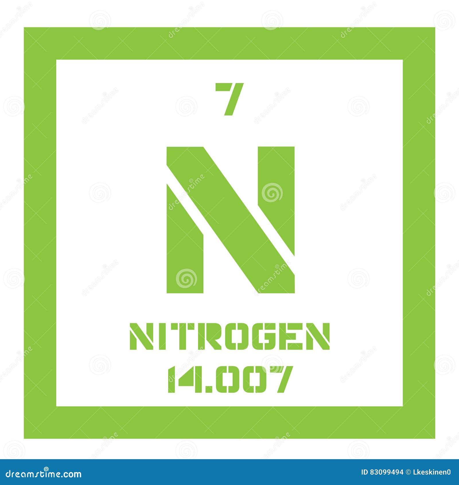 Stikstof chemisch element