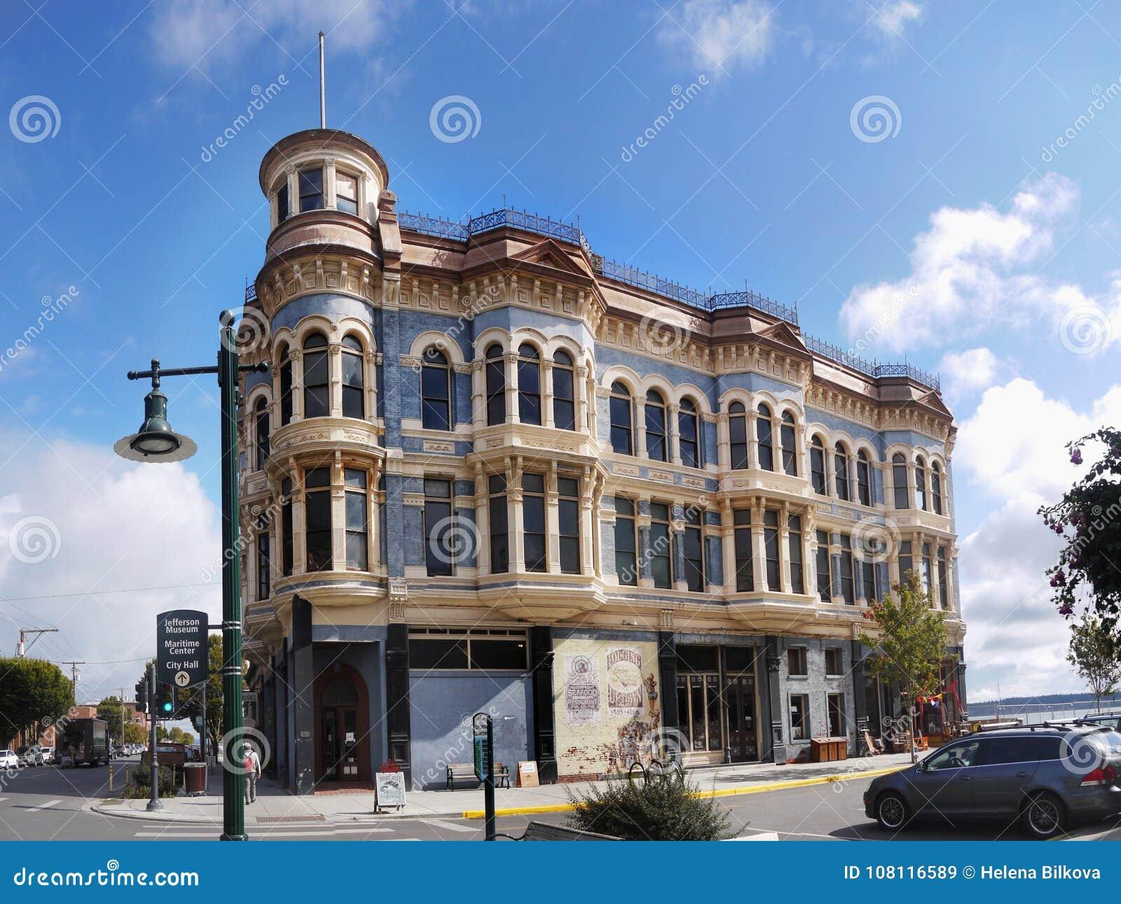 24e5559f Stilbyggnad För Viktoriansk Arkitektur Redaktionell Fotografering ...