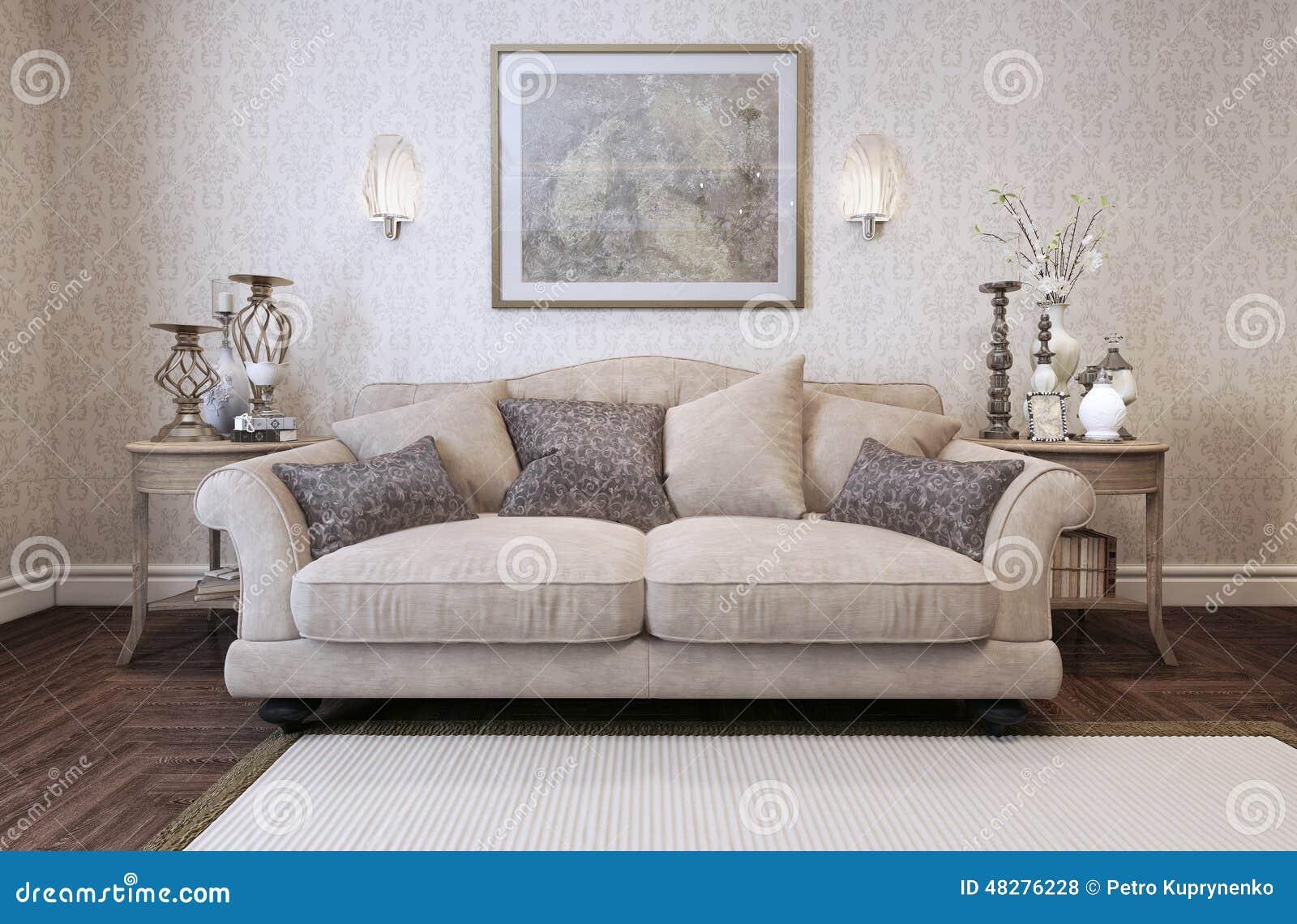 Stile del classico del sofà