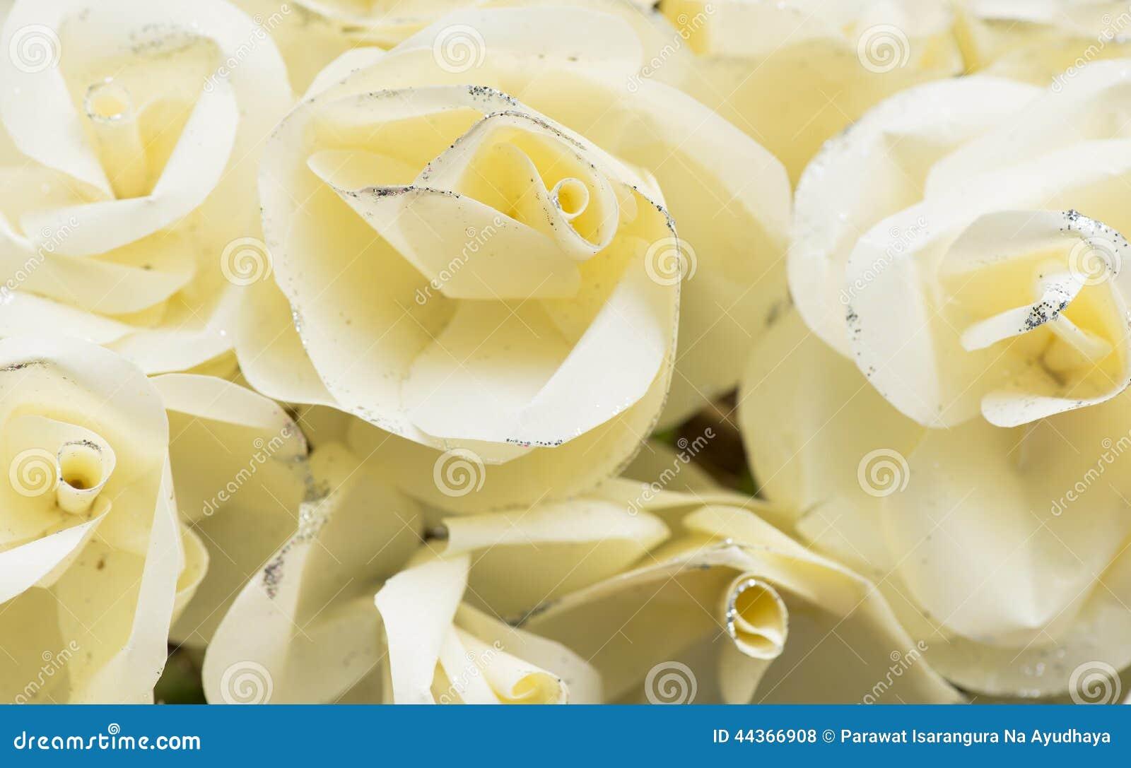 Stile dell annata del fiore di carta di Rosa