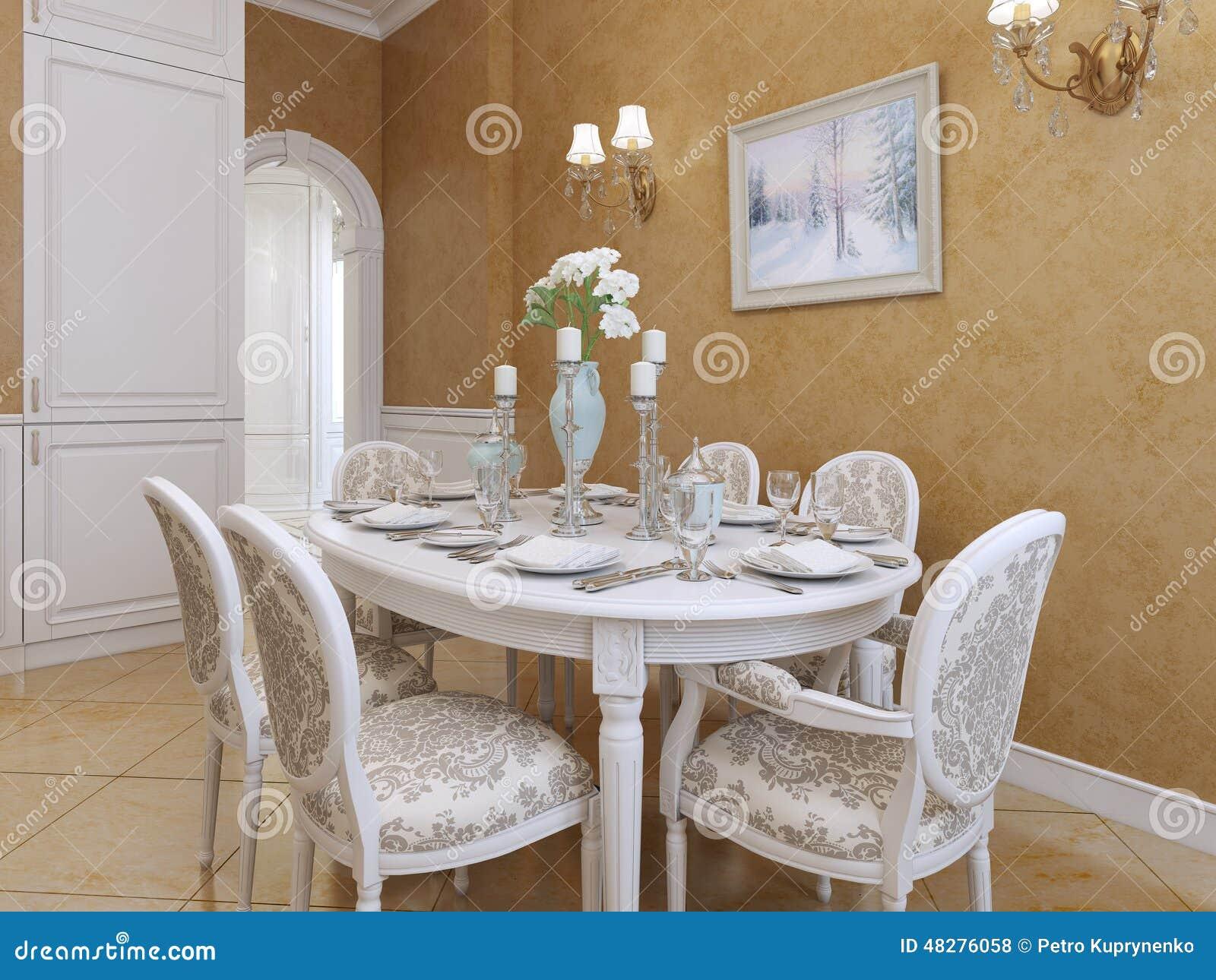 Stile della provenza della cucina illustrazione di stock for Pavimento della cucina in stile artigiano