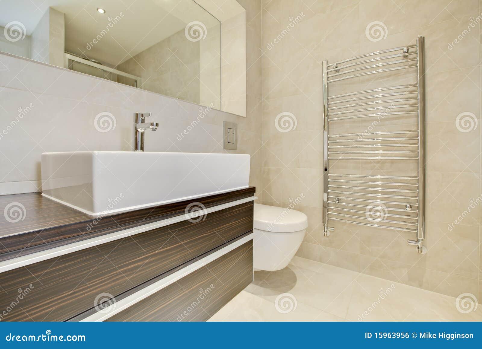 Sala Da Bagno Stile Contemporaneo : Stile della stanza da bagno fotografia stock immagine di