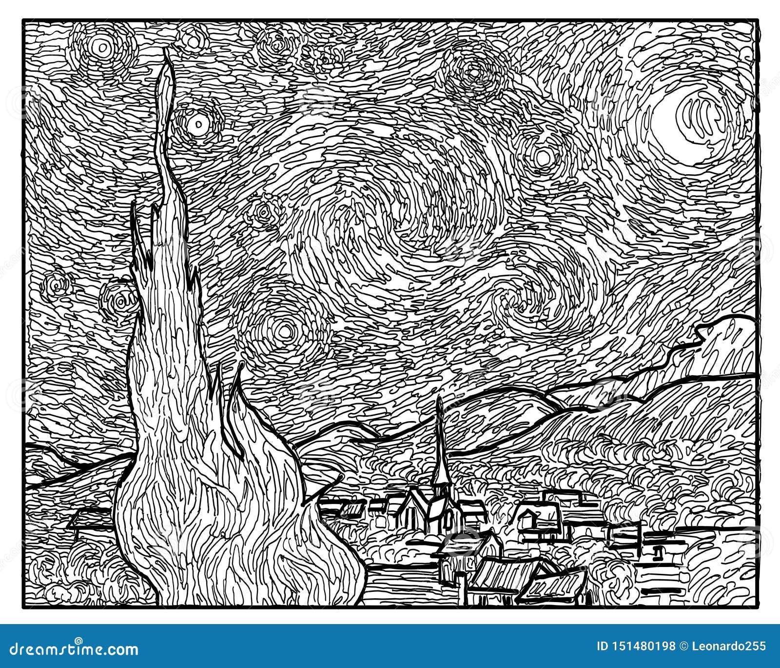 Gogh Illustrazioni Vettoriali E Clipart Stock 429 Illustrazioni Stock