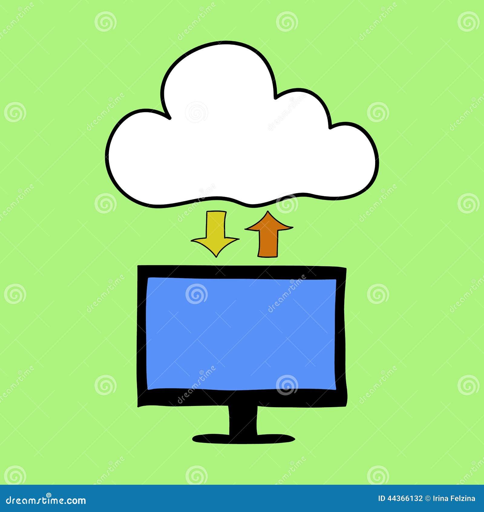 Stile di calcolo di scarabocchio della nuvola