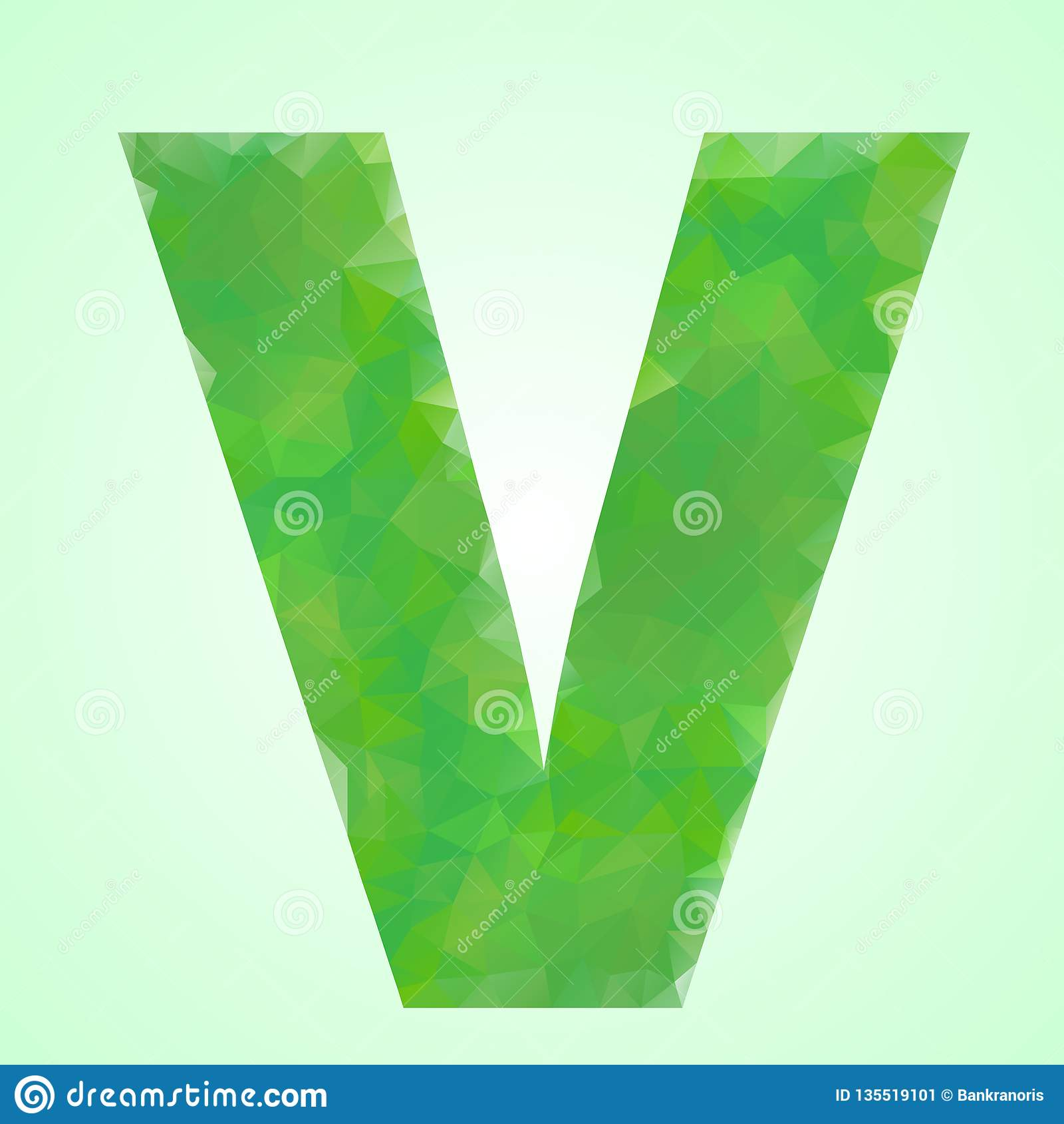 Stile di cristallo di V
