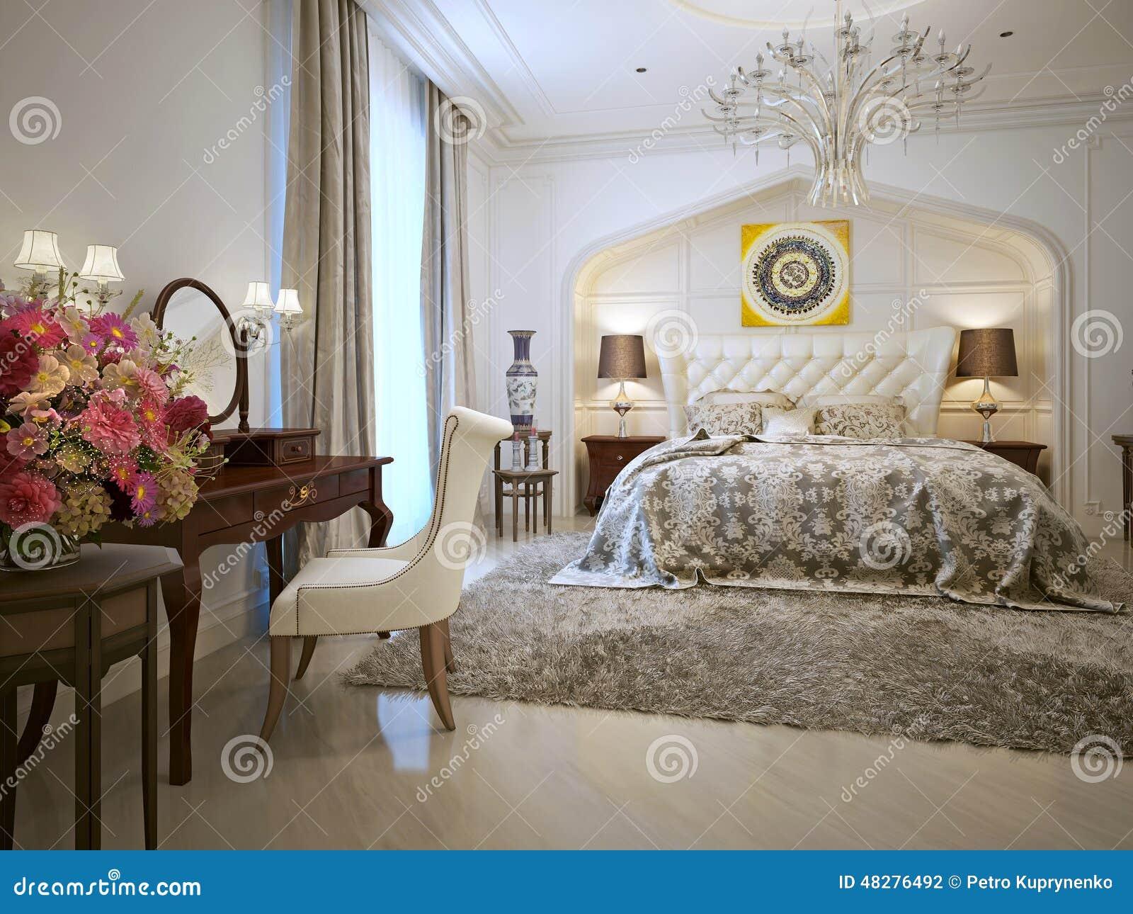 Camera Da Letto Stile Orientale : Stile di orientale della camera da letto illustrazione di stock