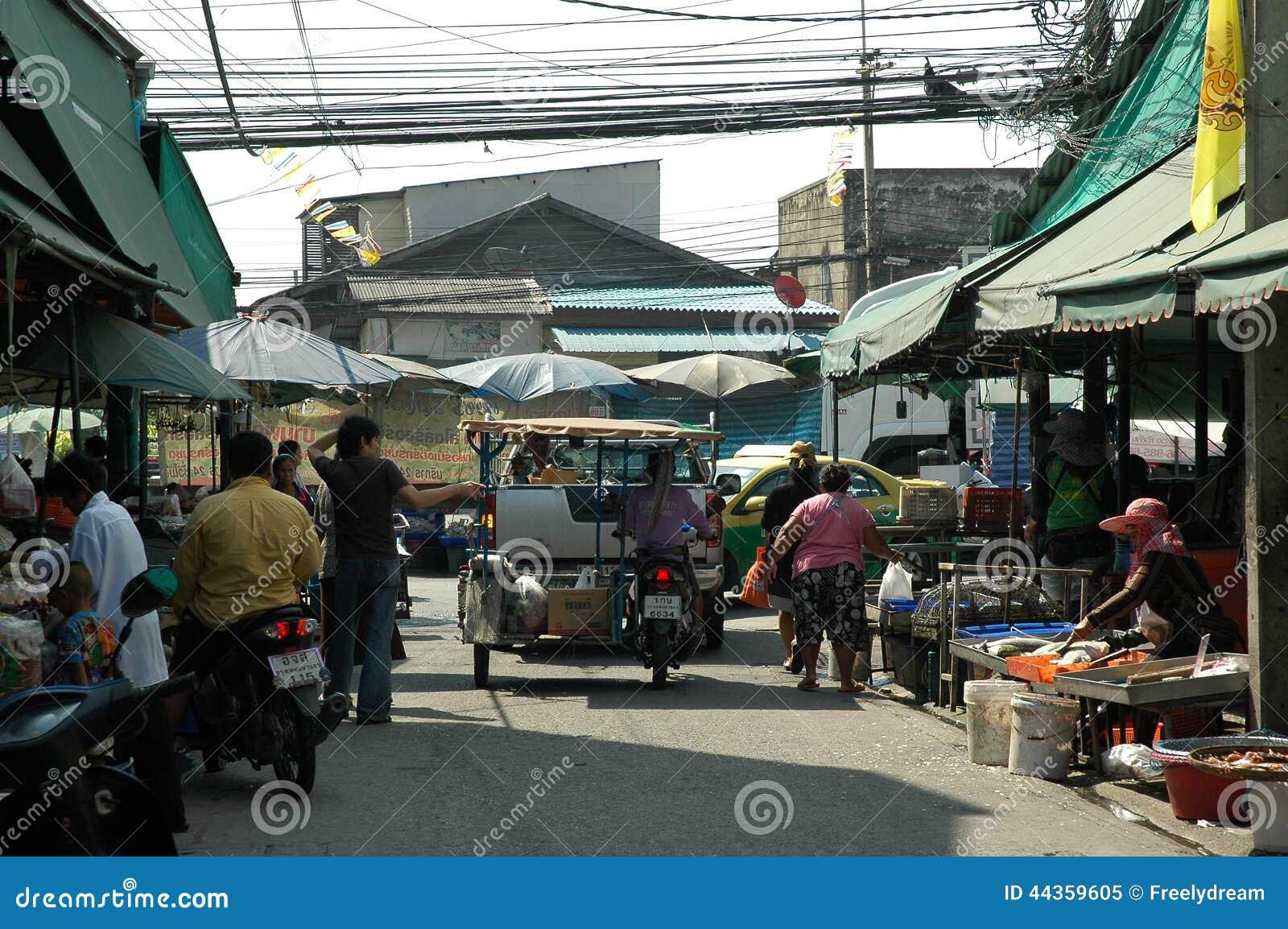 Stile di vita nel mercato di prodotti freschi