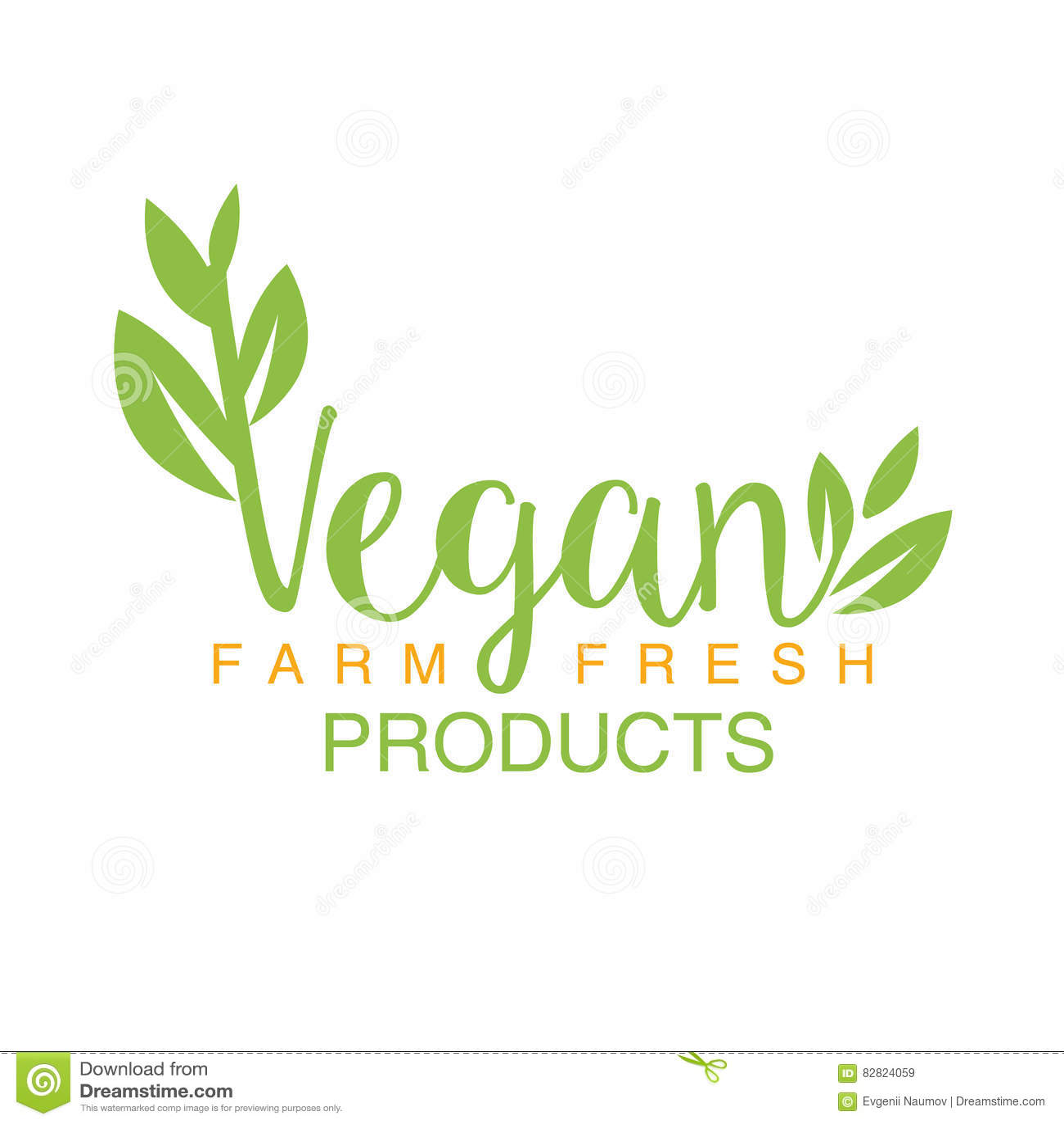 Stile di vita sano di Logo Design Calligraphic Template Promoting di verde naturale dell alimento del vegano e prodotti di Eco