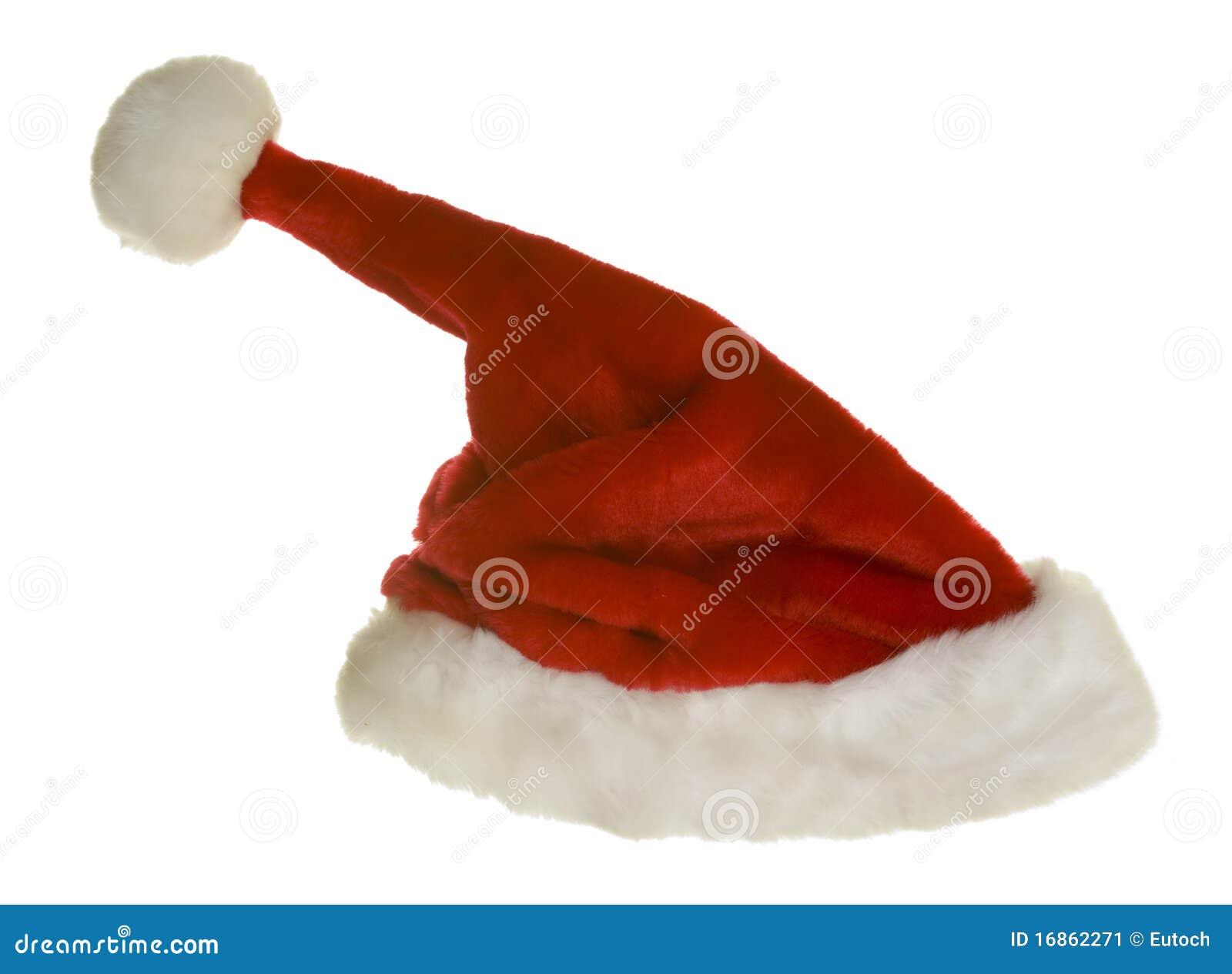 Stile engraçado do chapéu de Papai Noel