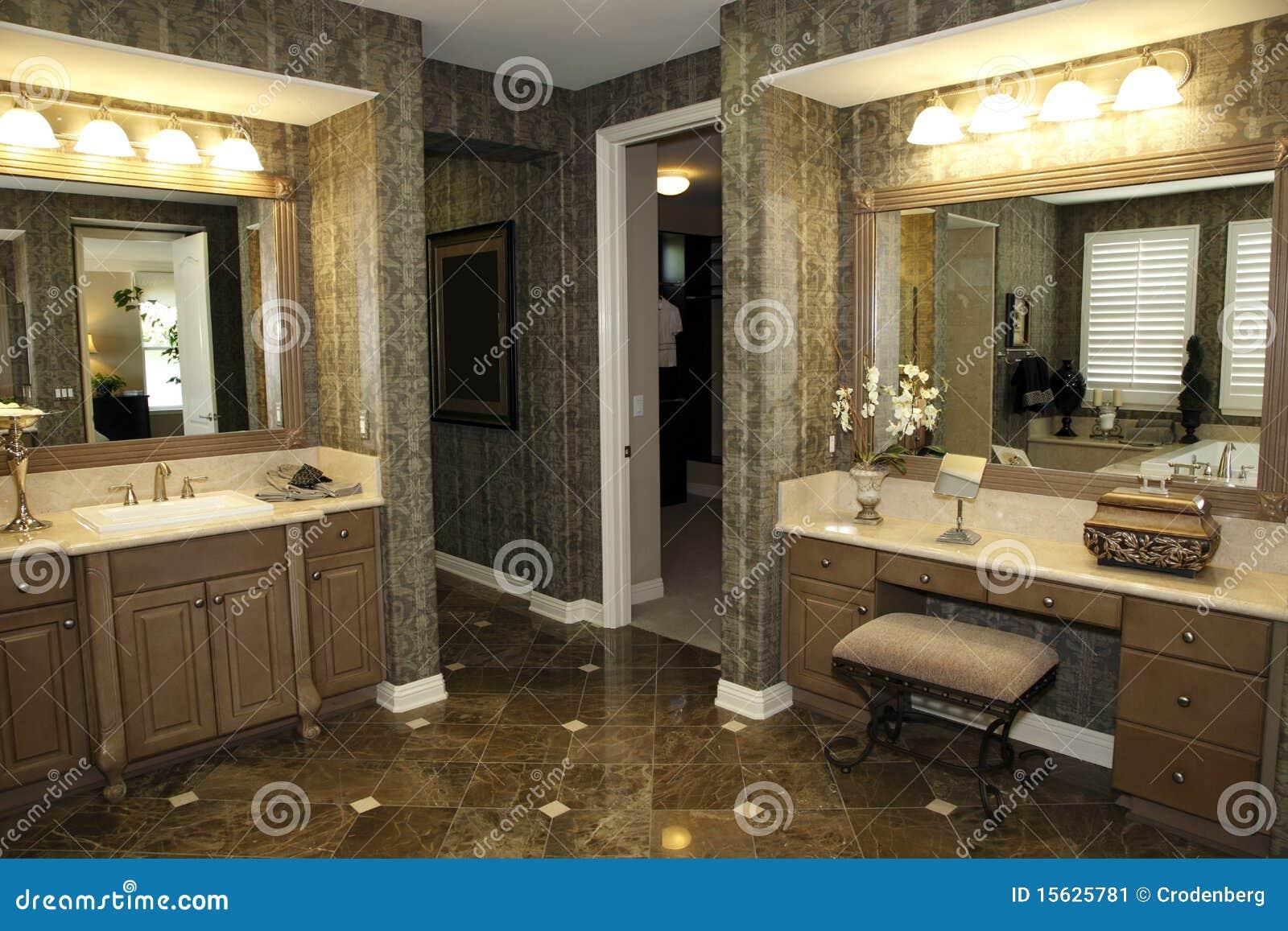 Stilfull badrumdekor fotografering för bildbyråer   bild: 15625781