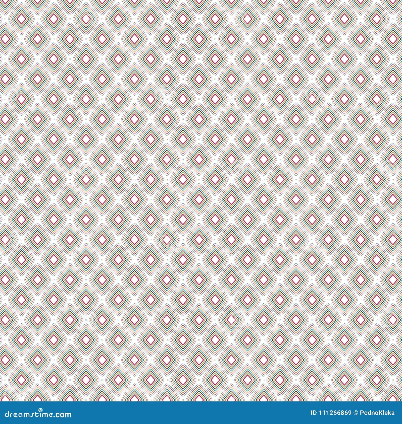 Stilfull infödd rombDiamond Ethnic Zig Zag Pattern bakgrund