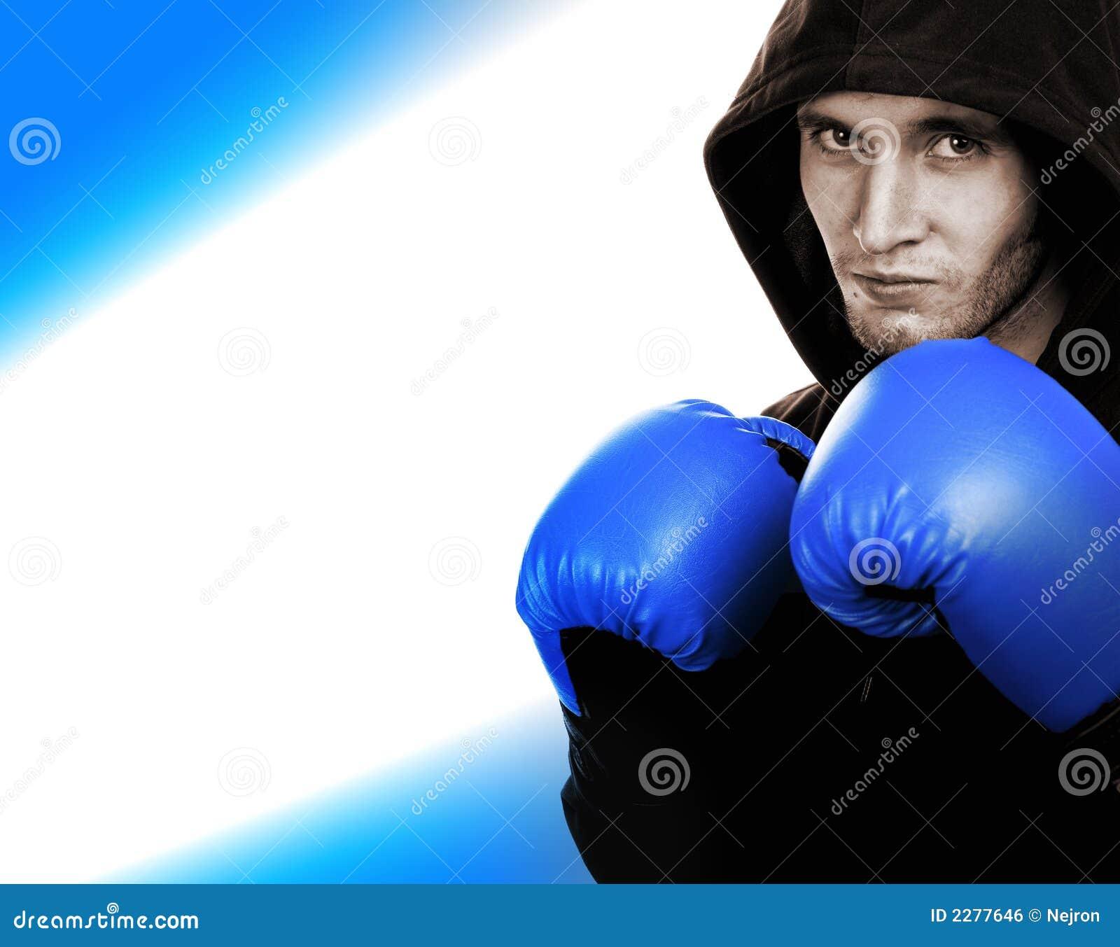 Stiligt barn för boxare