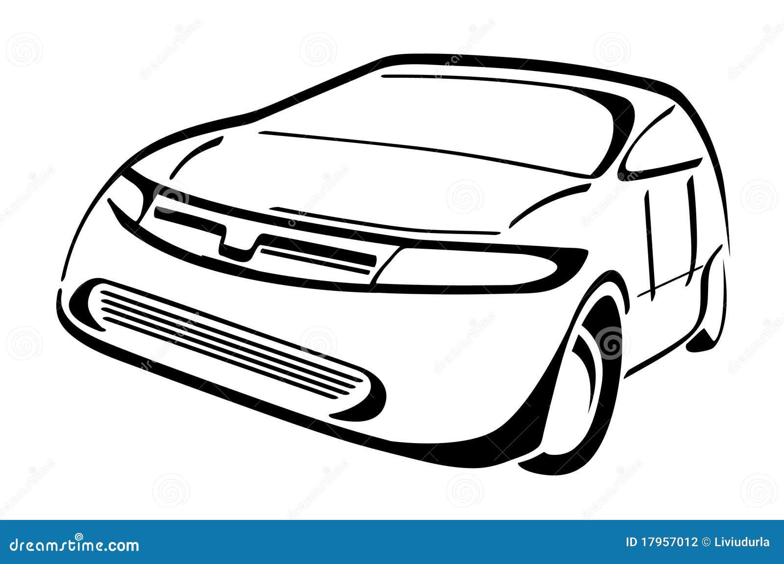 Stilisiert Auto Stock Abbildung Bild Von Erhaltung